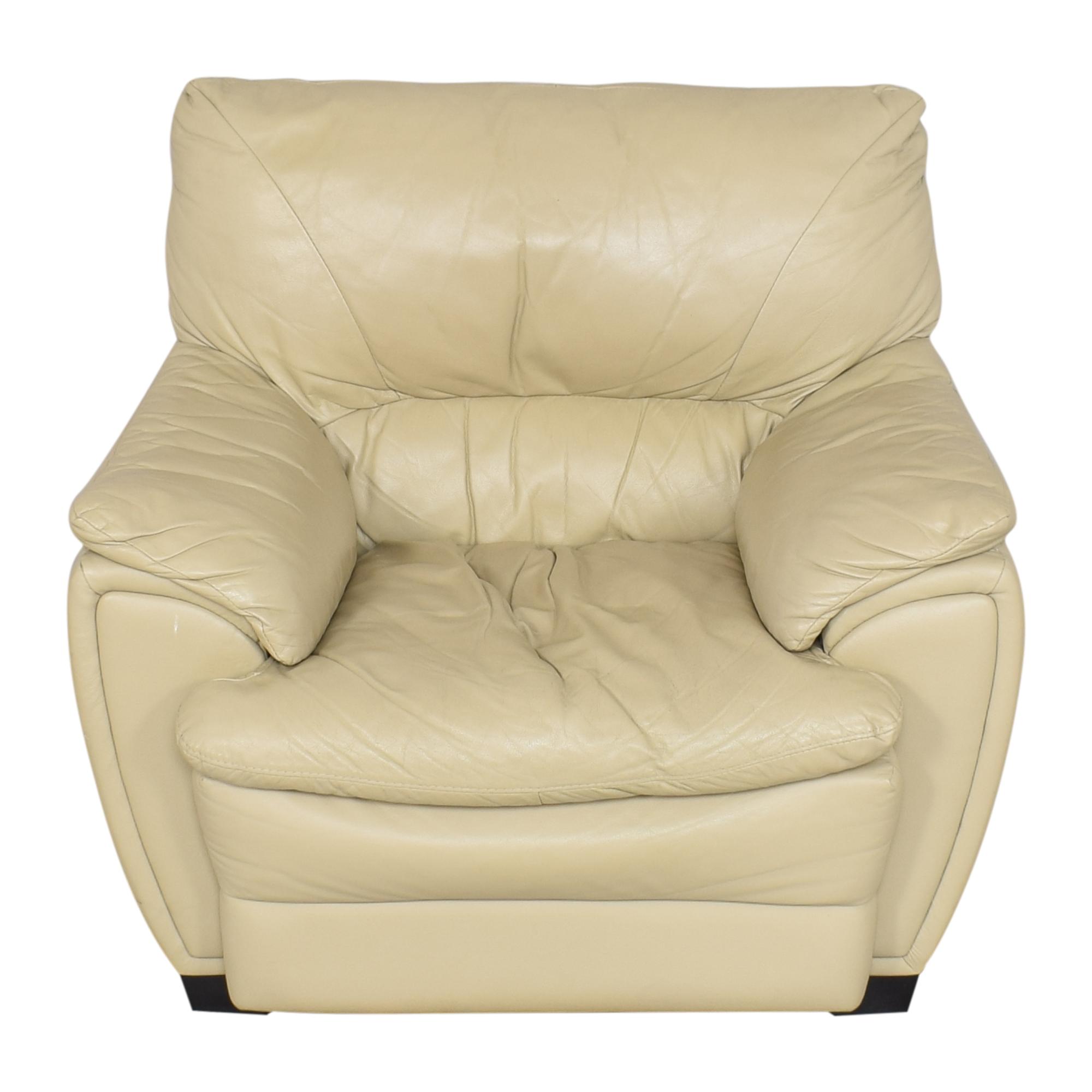 Raymour & Flanigan Raymour & Flanigan Padded Arm Chair ma