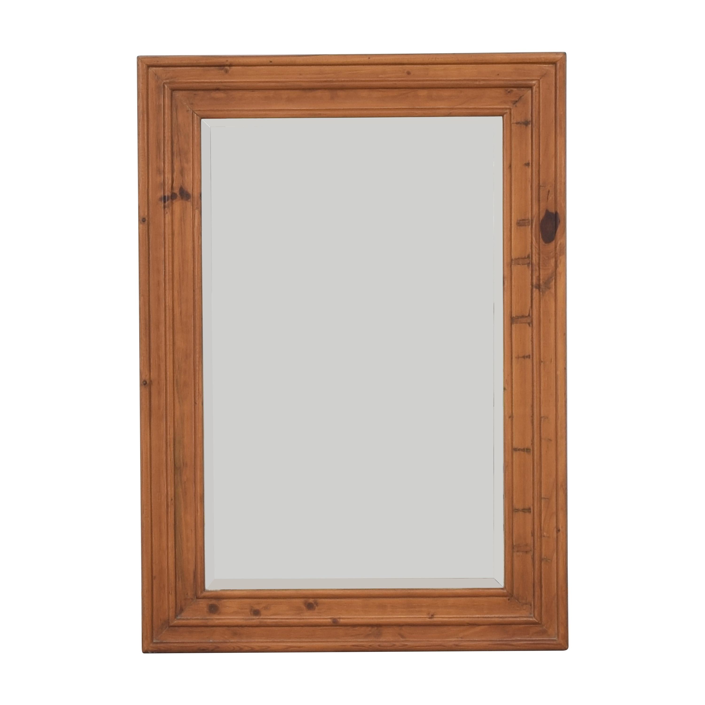 shop Pottery Barn Framed Wall Mirror Pottery Barn Mirrors