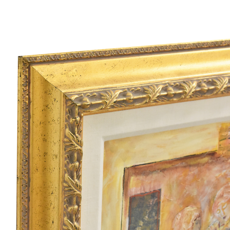 Sevitt Francis Gaze III Framed Wall Art Decor