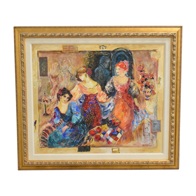Sevitt Francis Gaze III Framed Wall Art for sale
