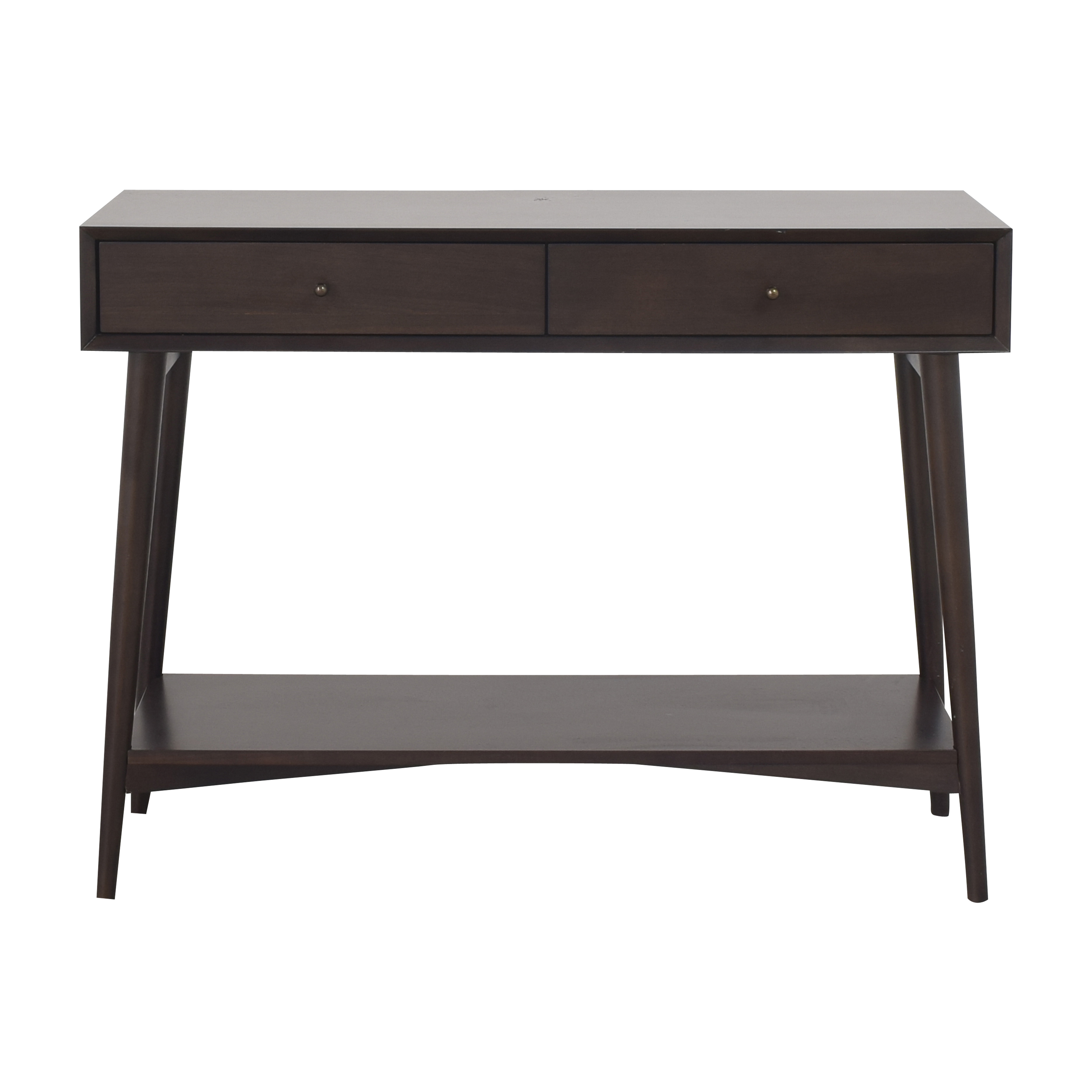shop West Elm Mid Century Console West Elm