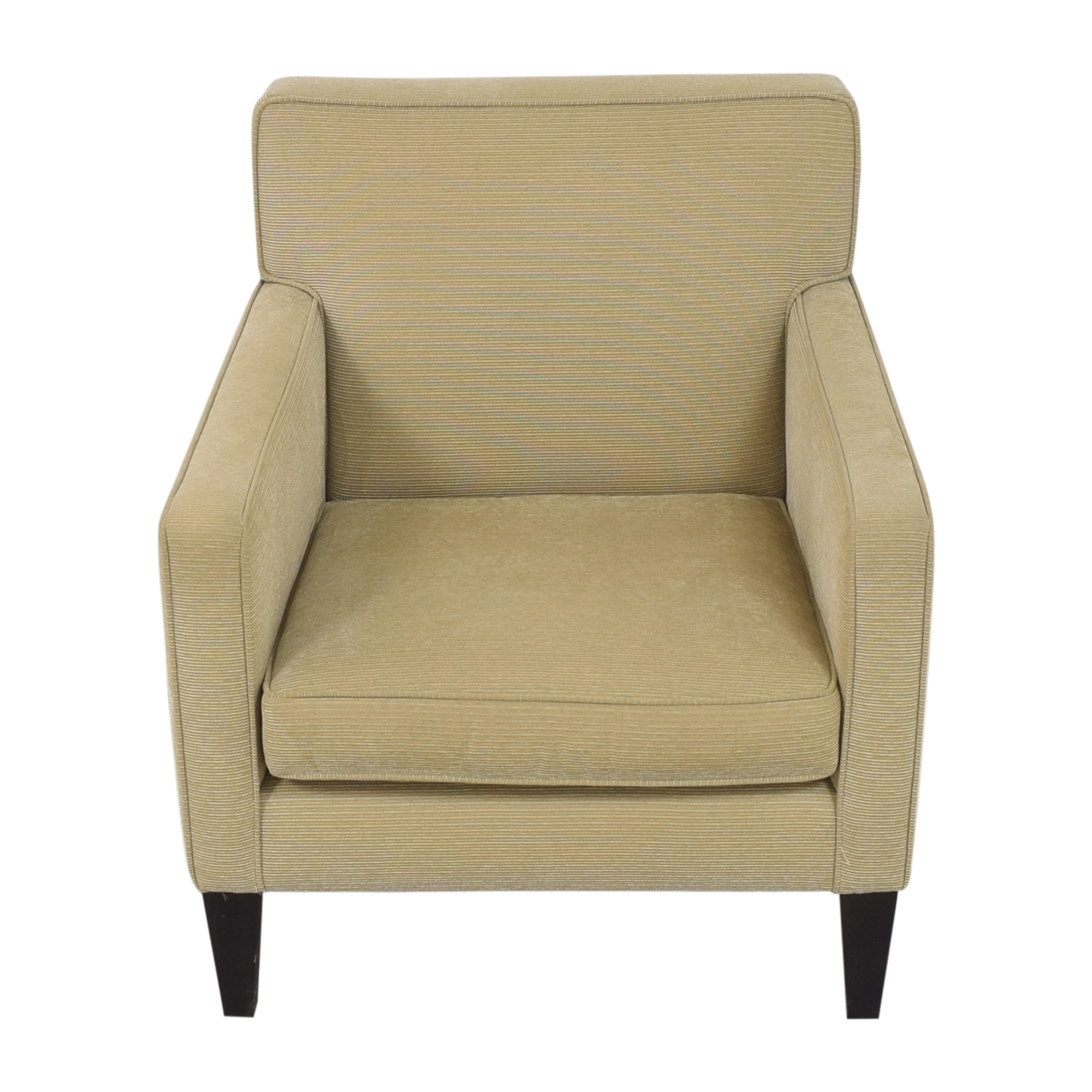 shop Crate & Barrel Tight Back Accent Chair Crate & Barrel Accent Chairs