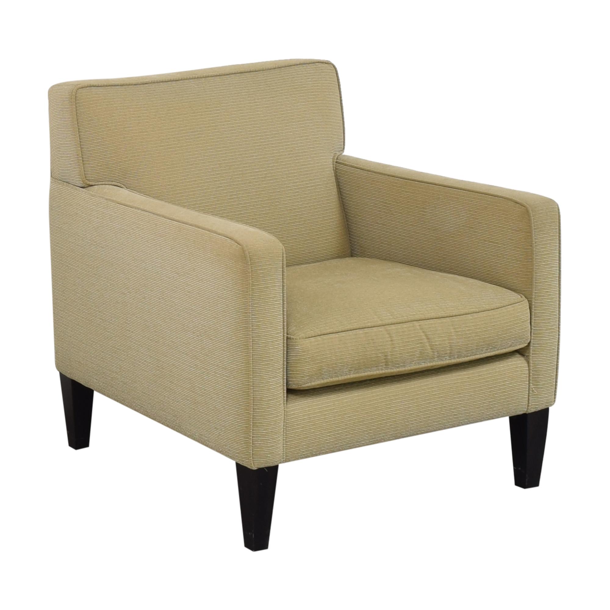 Crate & Barrel Crate & Barrel Tight Back Accent Chair nj