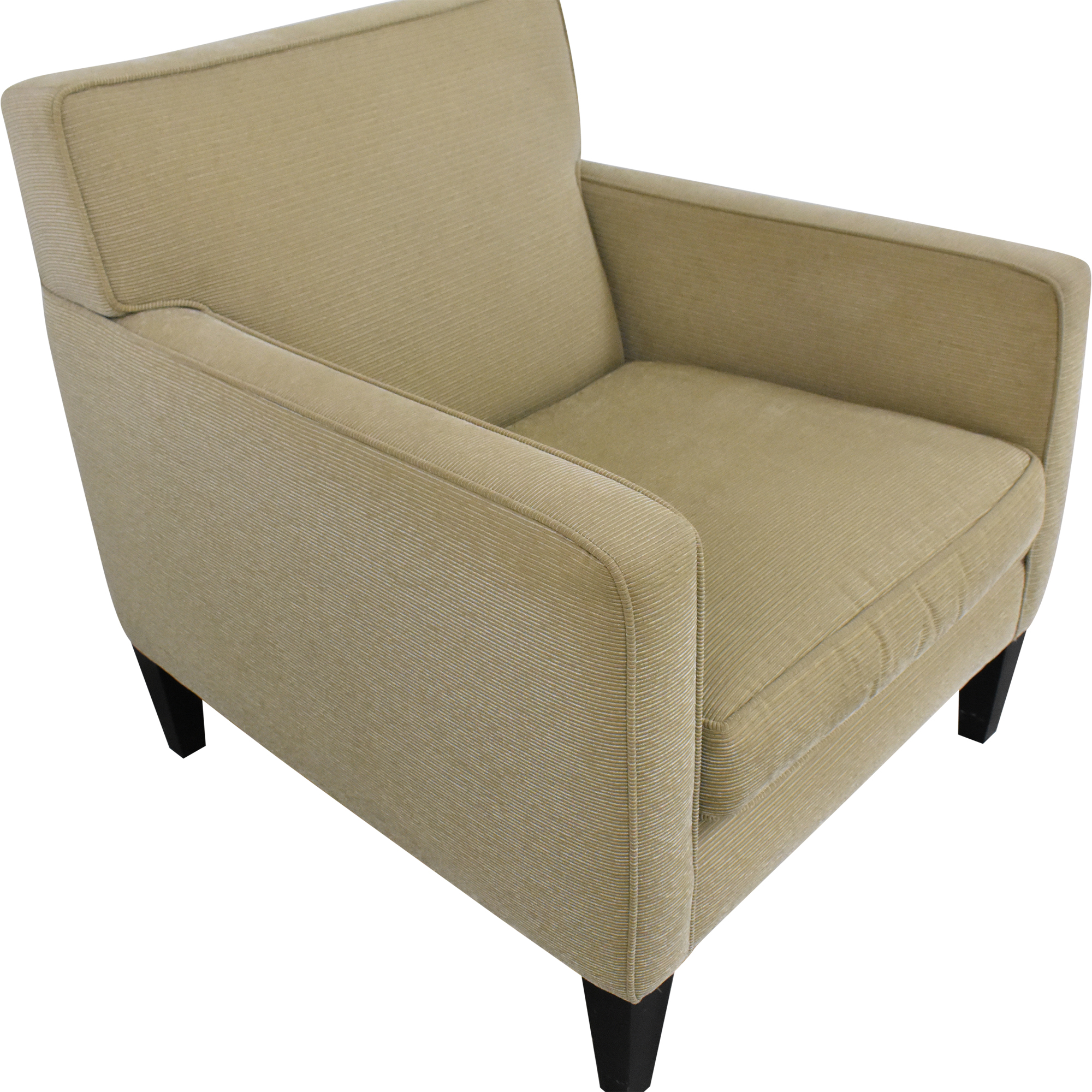 Crate & Barrel Crate & Barrel Tight Back Accent Chair Chairs
