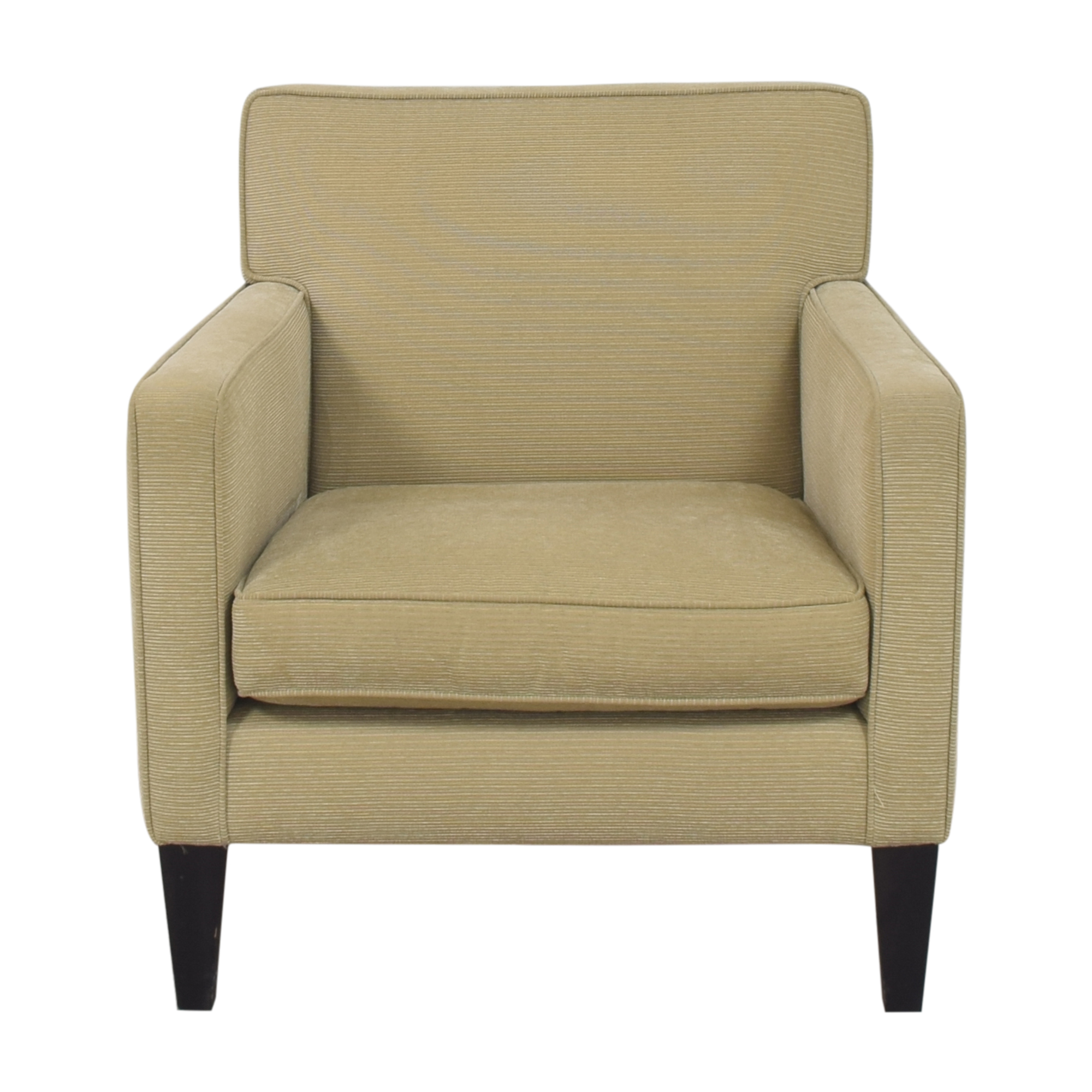 Crate & Barrel Crate & Barrel Tight Back Accent Chair second hand