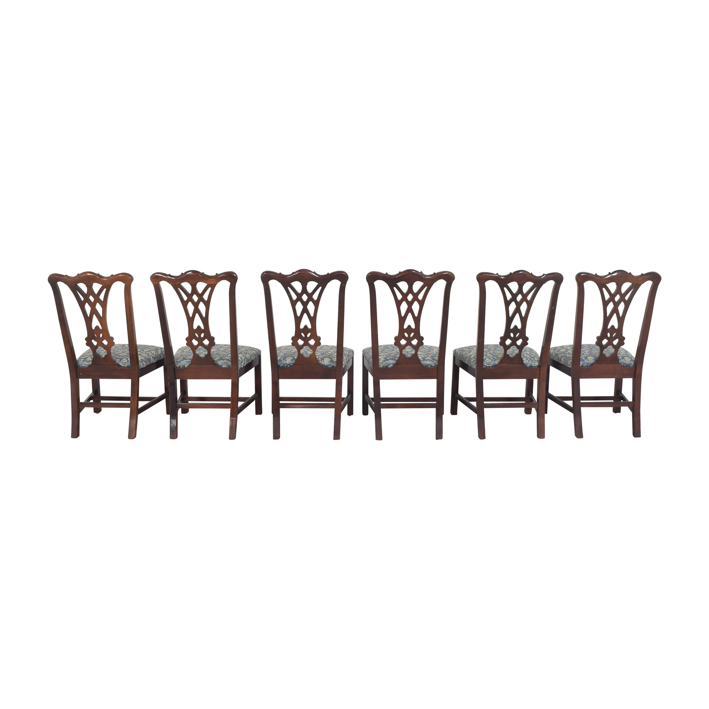 Thomasville Thomasville Chippendale Style Dining Chairs for sale