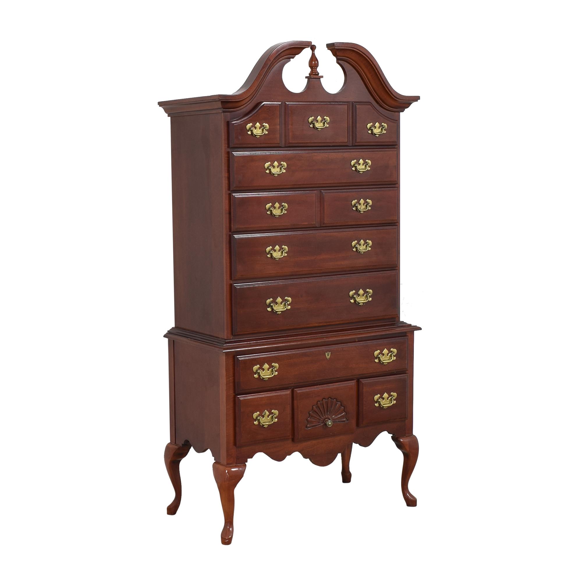 American Drew American Drew Chippendale Highboy Chest Dressers