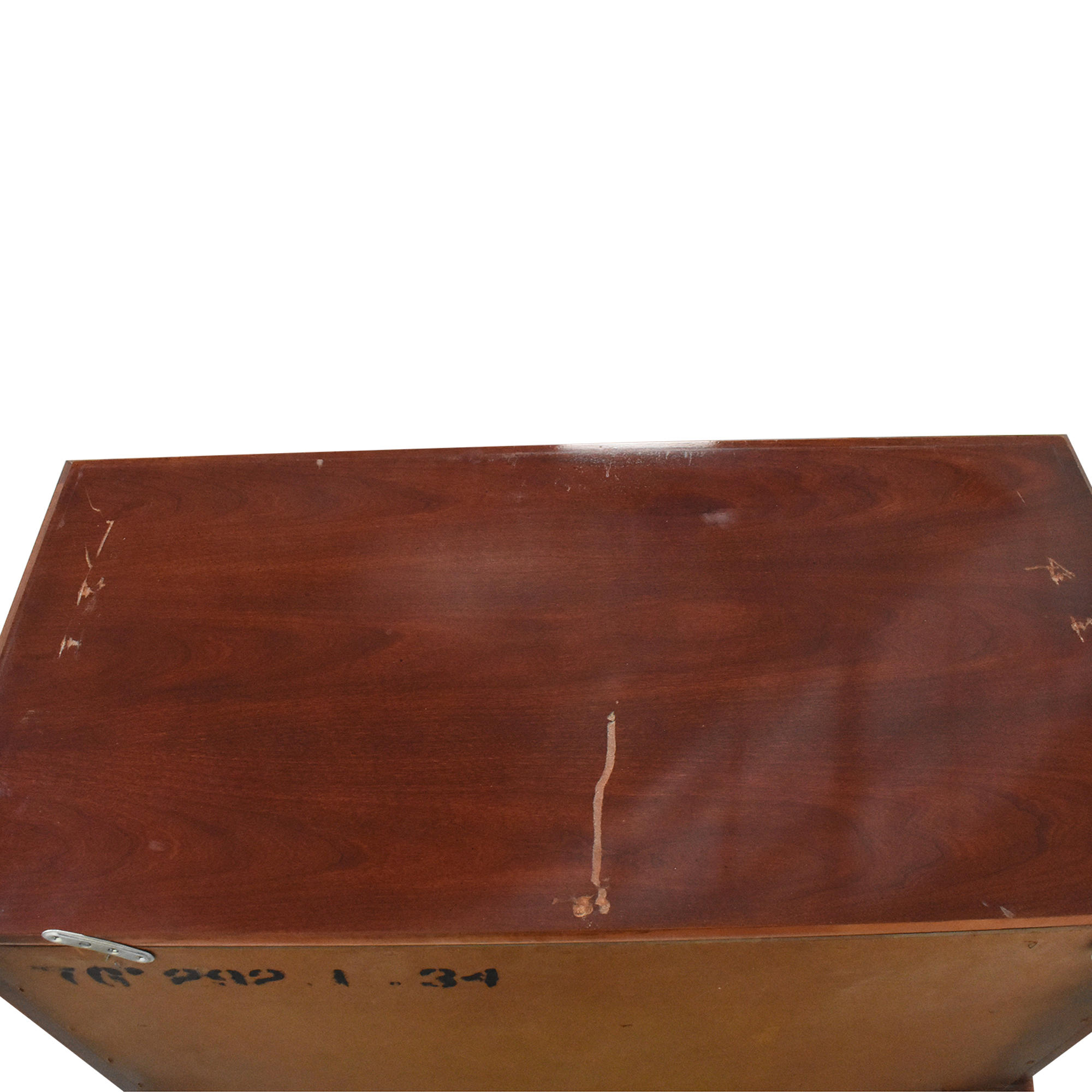American Drew American Drew Chippendale Highboy Chest brown