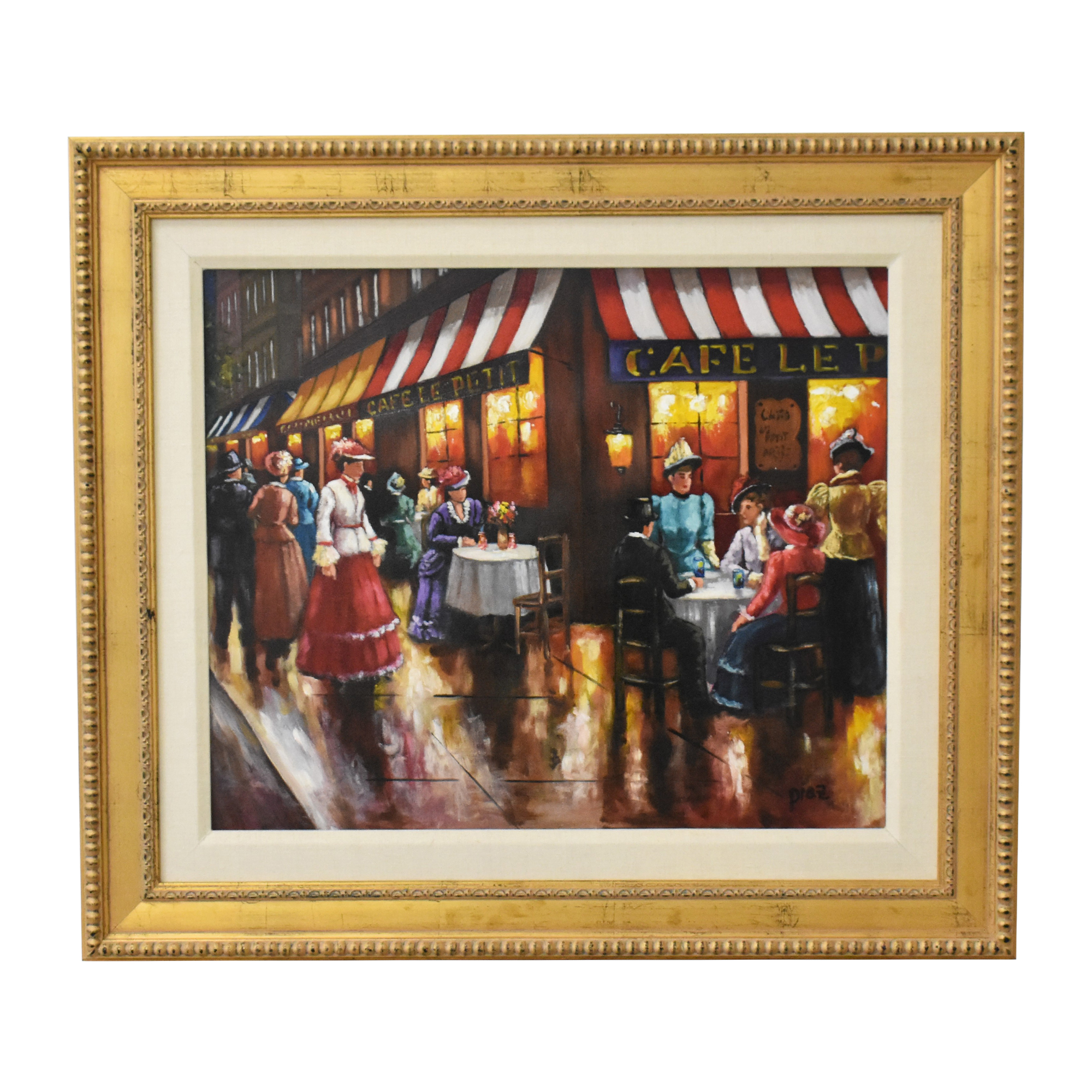 Cafe Scene Wall Art for sale