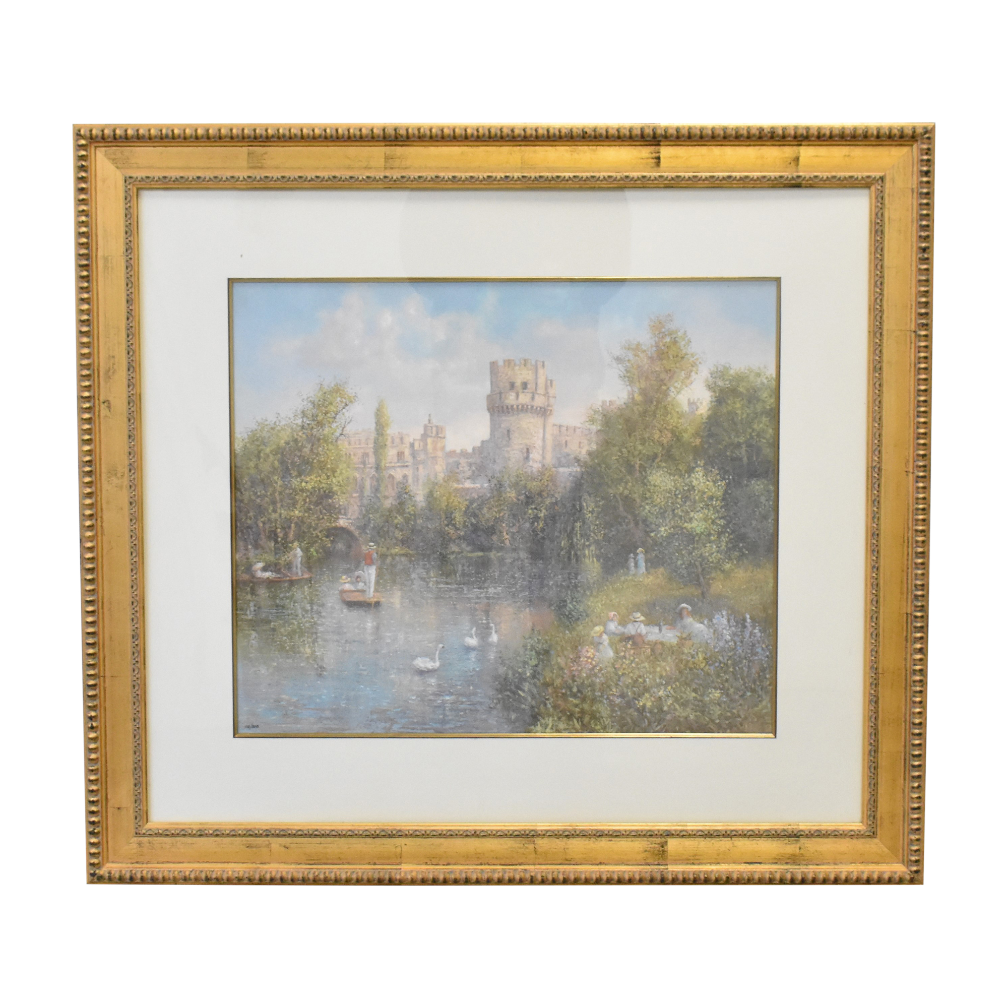 Colin Maxwell Parsons Warwick Castle Wall Art nyc