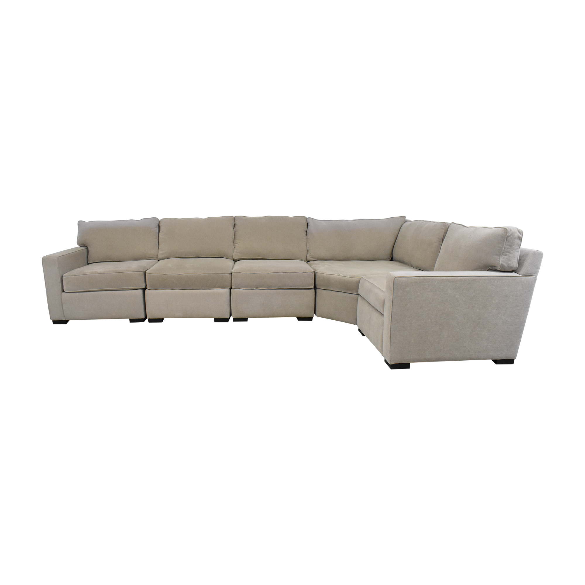 Macy's Macy's L Shaped Sectional Sofa for sale