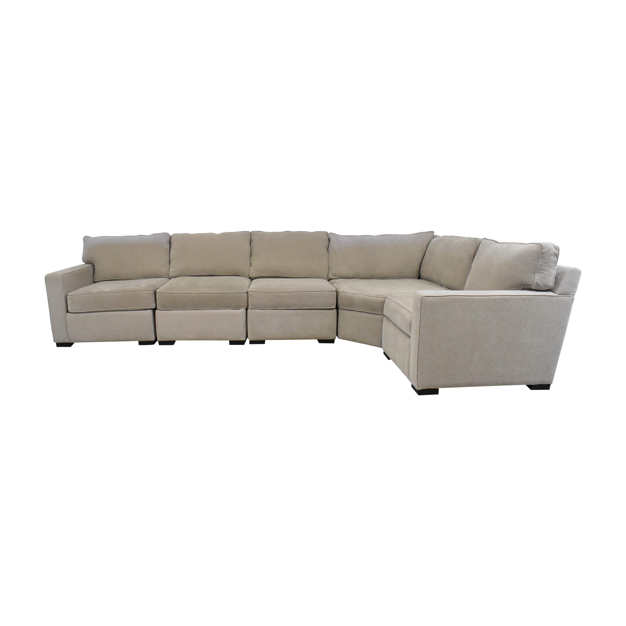 Macy's Macy's L Shaped Sectional Sofa on sale