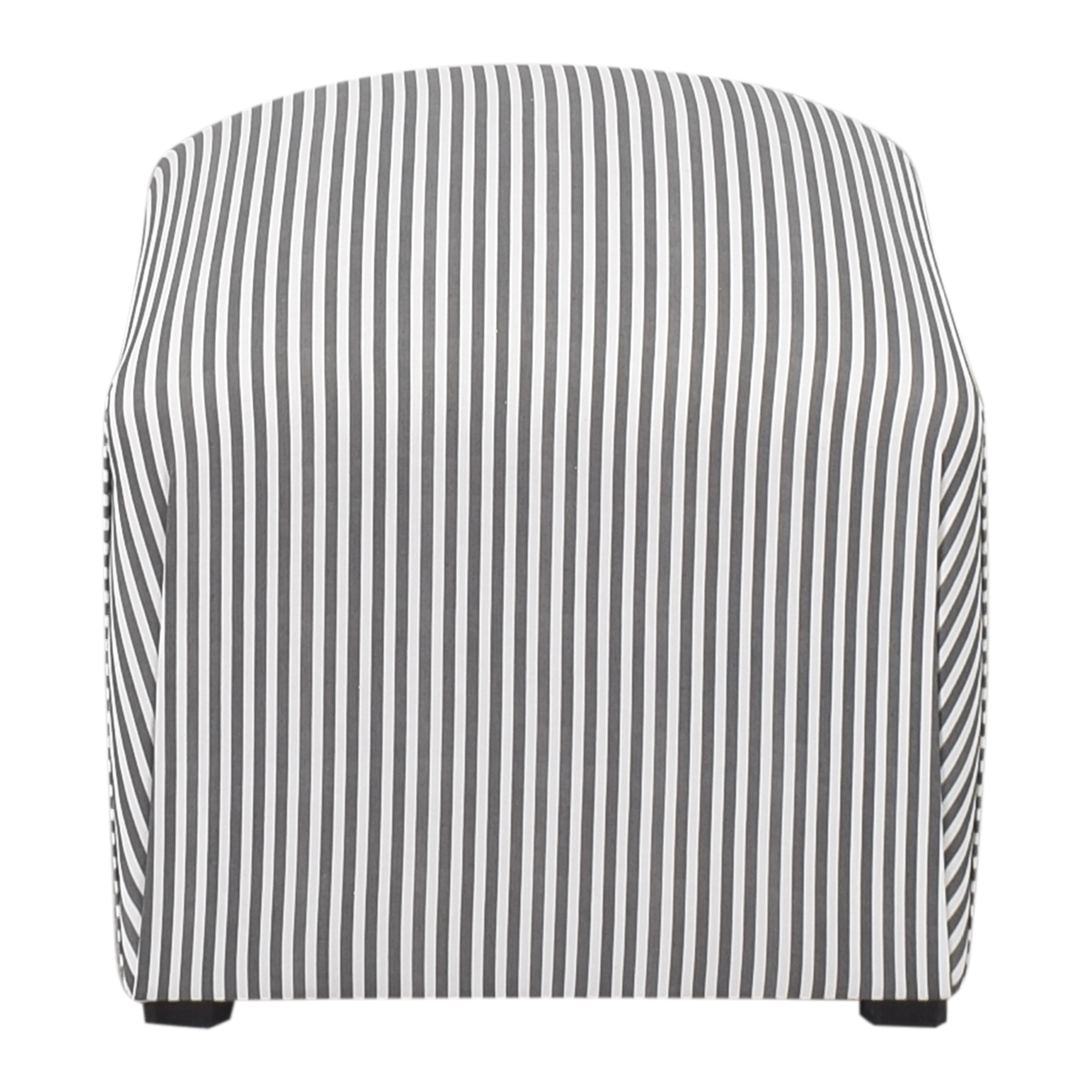 The Inside The Inside Ticking Stripe Deco Ottoman on sale