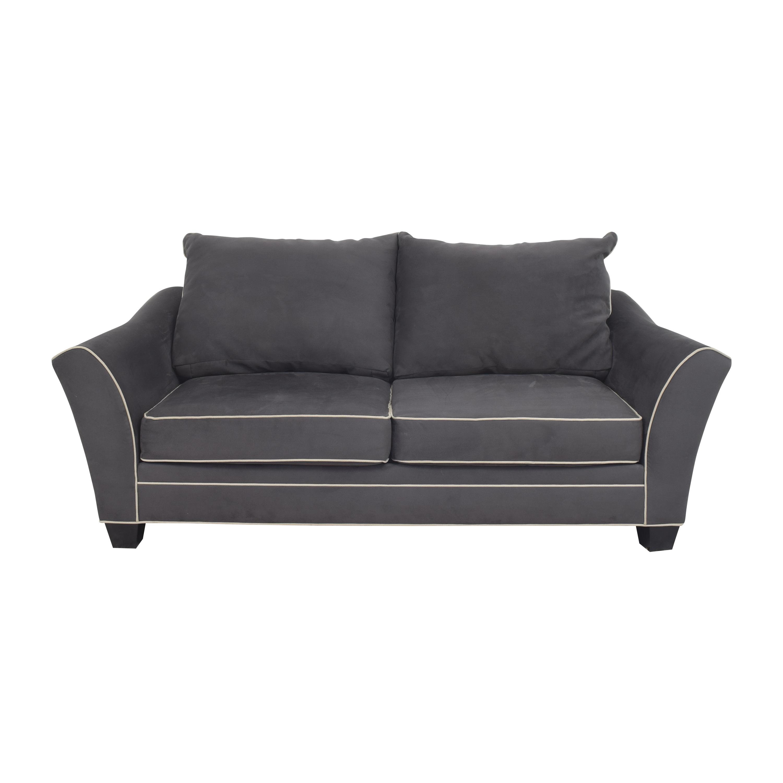 Raymour & Flanigan Two Cushion Apartment Sofa sale