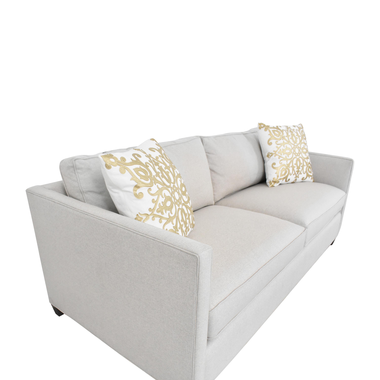 Crate & Barrel Crate & Barrel Two Cushion Sofa ma