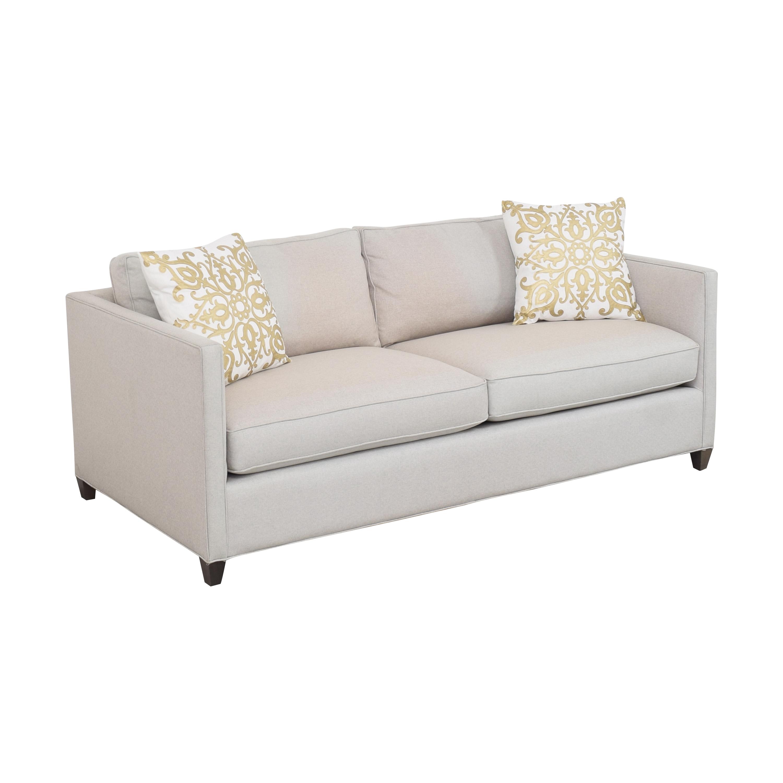 Crate & Barrel Crate & Barrel Two Cushion Sofa ct