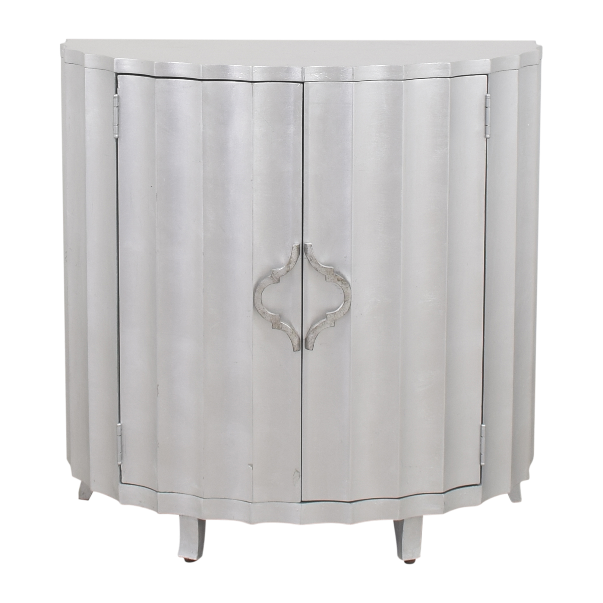 Hekman Furniture Hekman Furniture Scalloped Front Demilune Chest nj