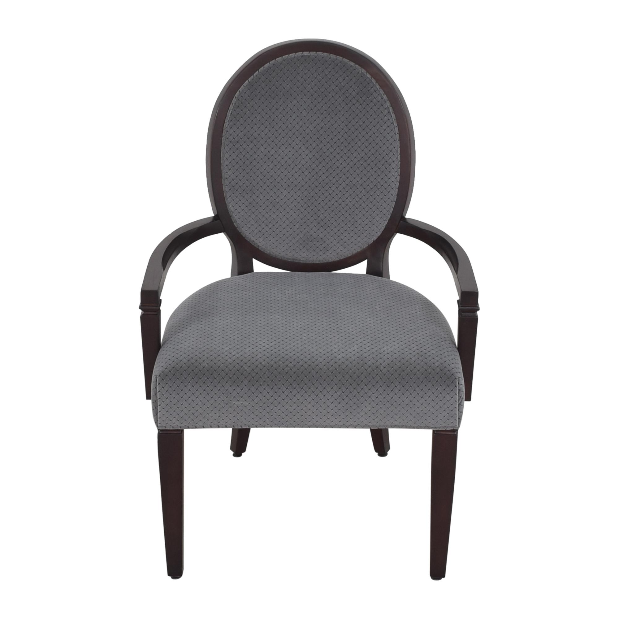Hekman Furniture Hekman Furniture Brighton King Louis Back Armchair nj