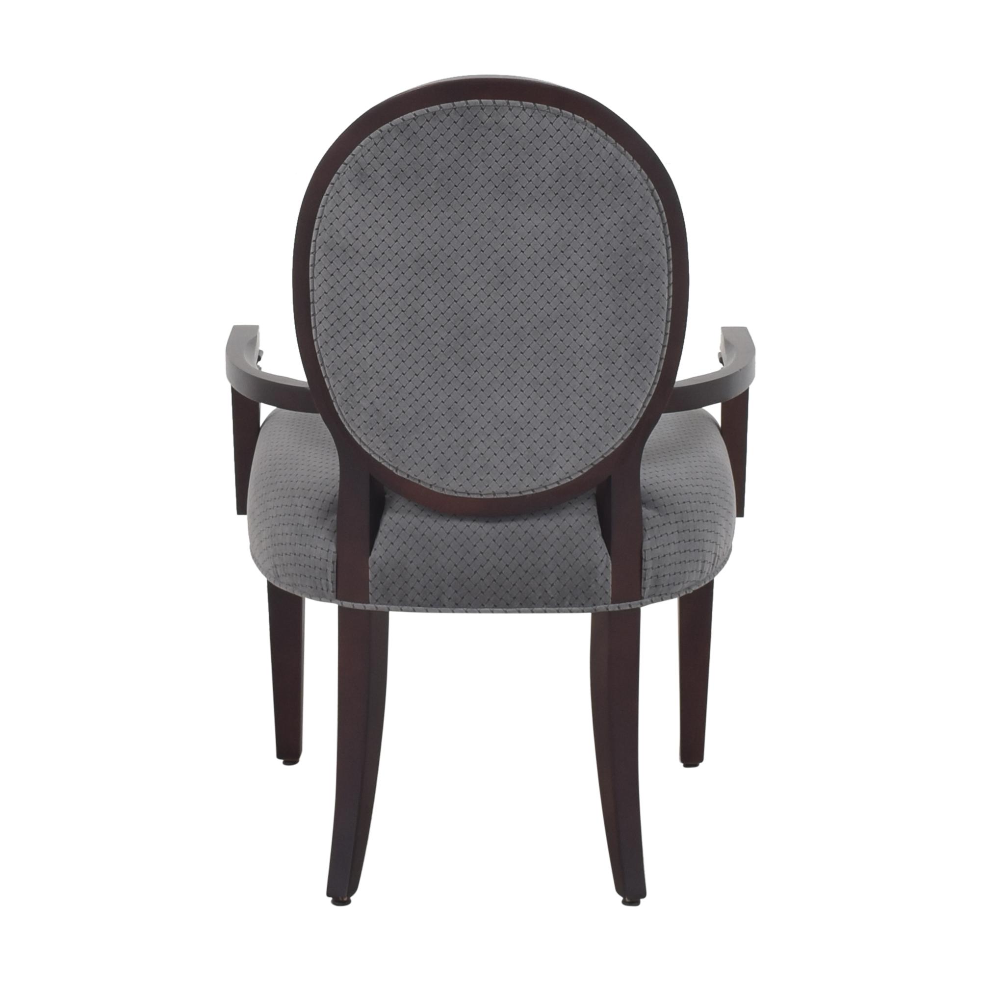 buy Hekman Furniture Brighton King Louis Back Armchair Hekman Furniture