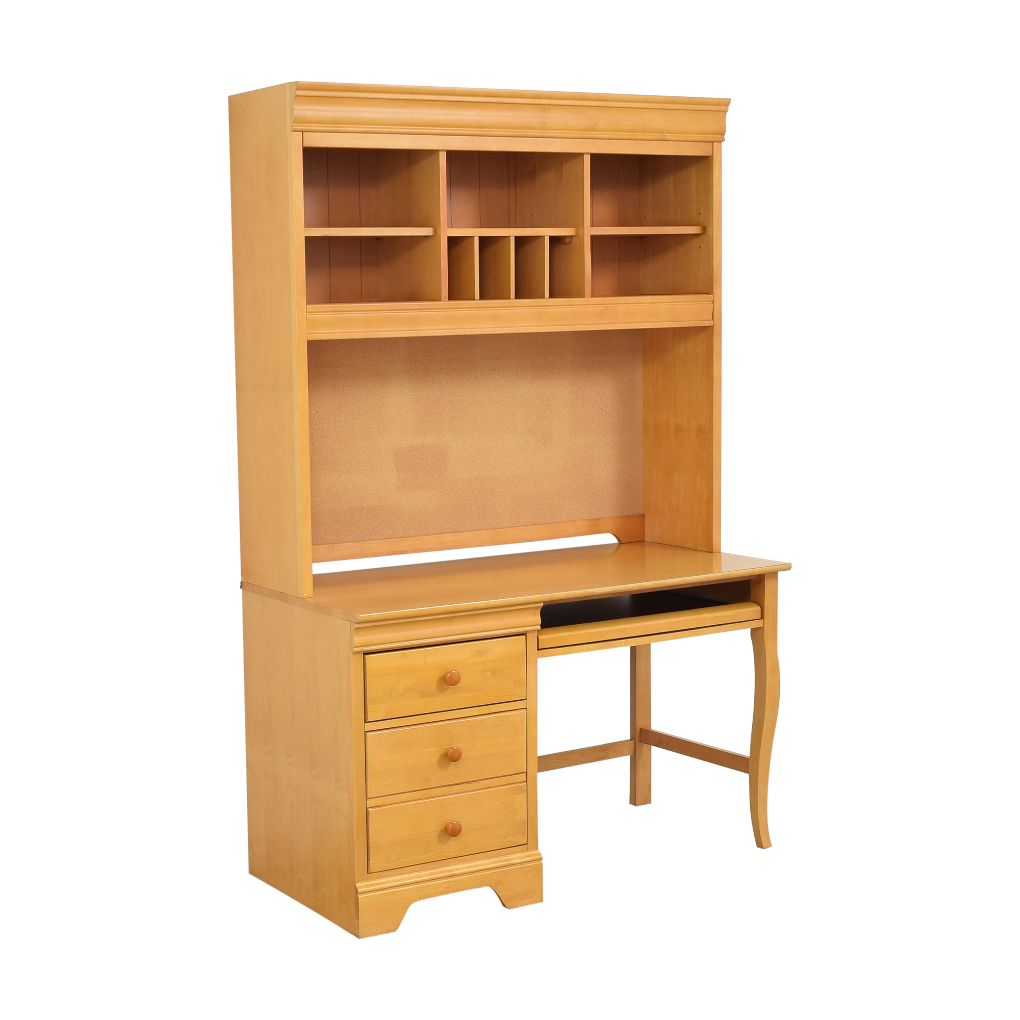 buy Stanley Furniture Pedestal Desk with Hutch Stanley Furniture