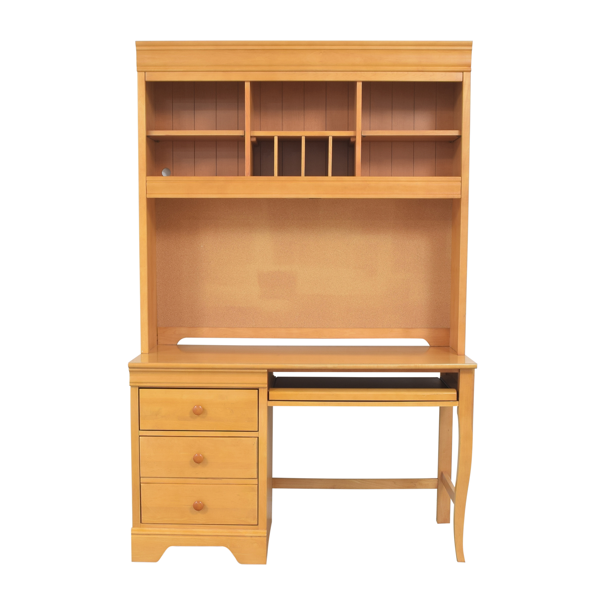 Stanley Furniture Stanley Furniture Pedestal Desk with Hutch price