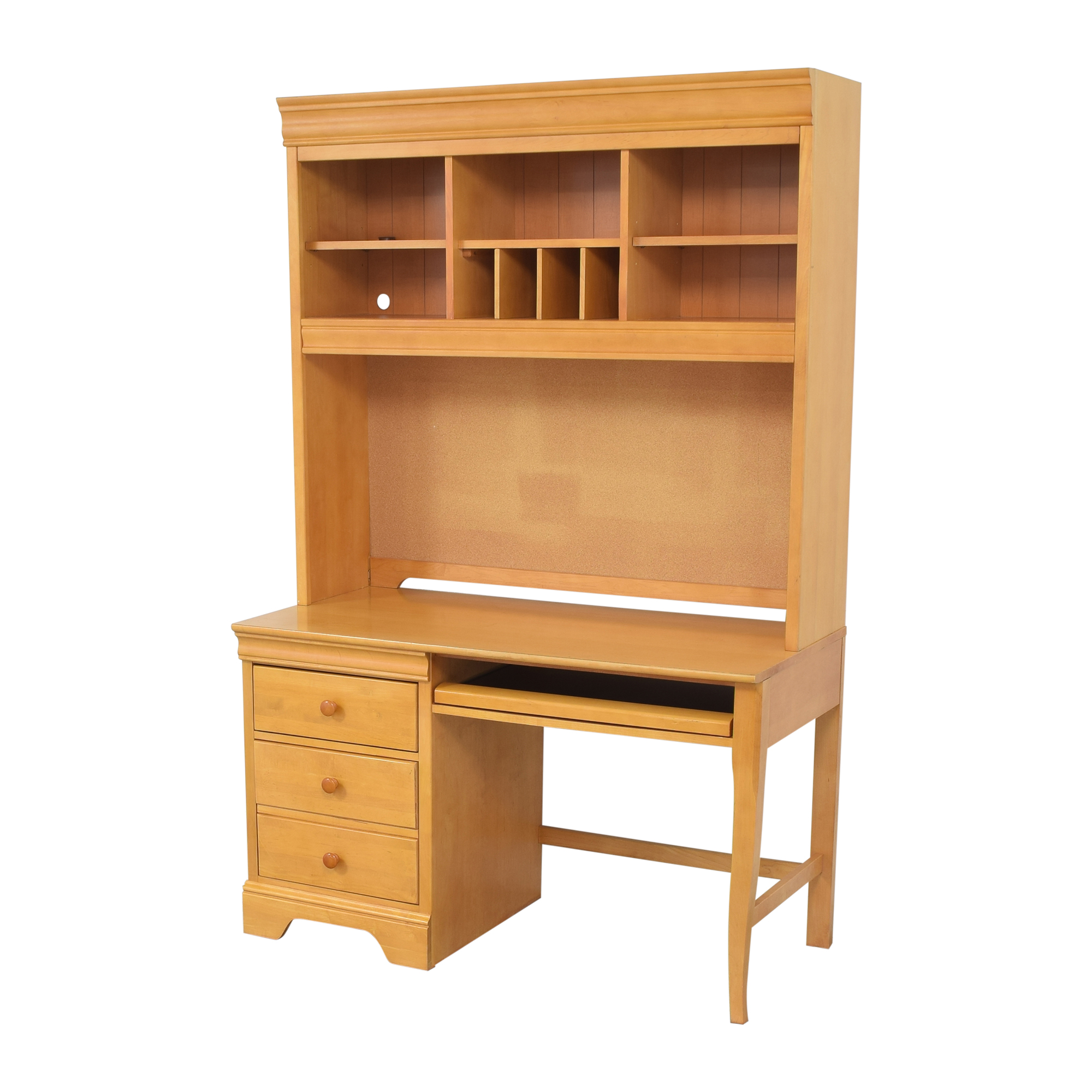 buy Stanley Furniture Stanley Furniture Pedestal Desk with Hutch online