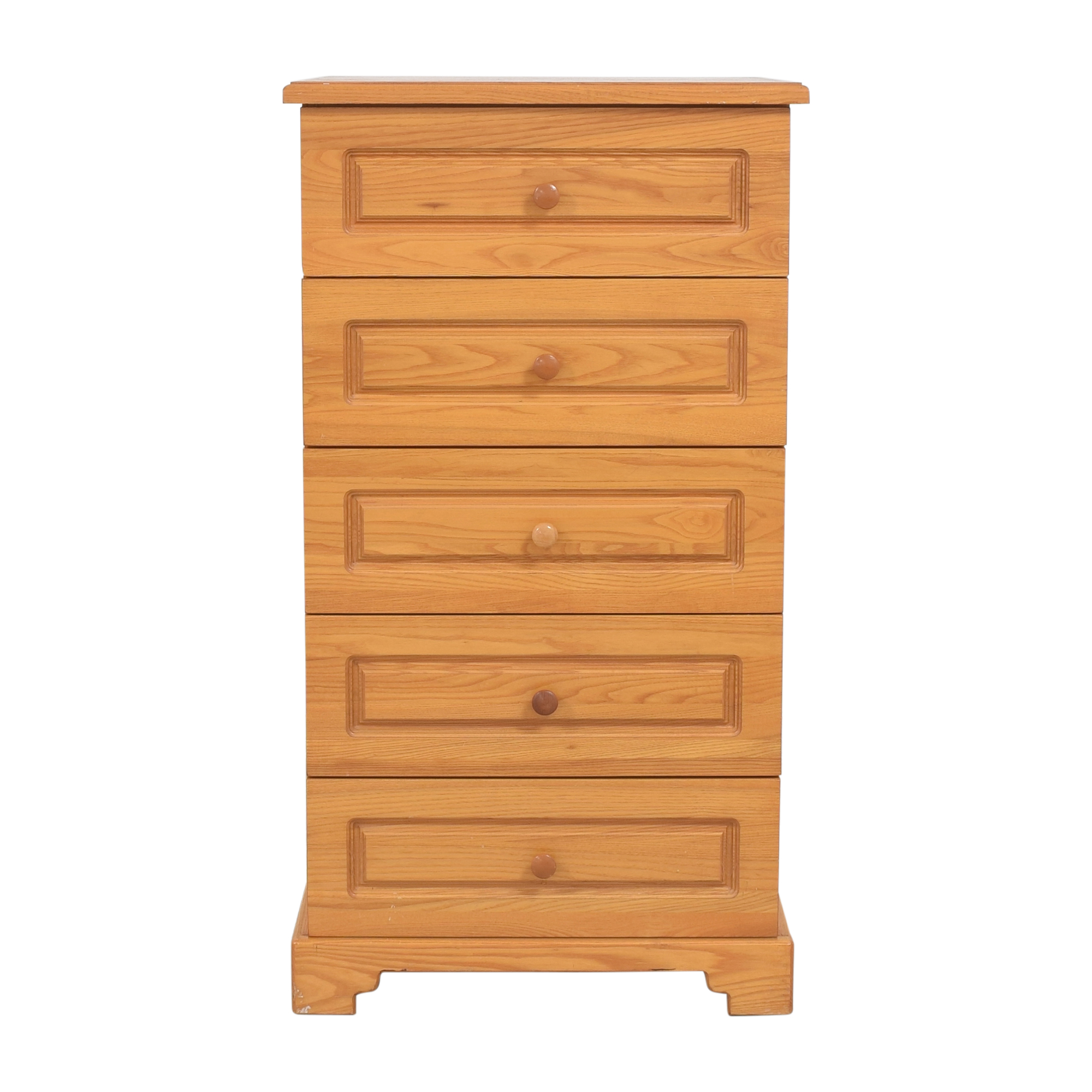 Gothic Cabinet Craft Gothic Cabinet Craft Five Drawer Chest for sale