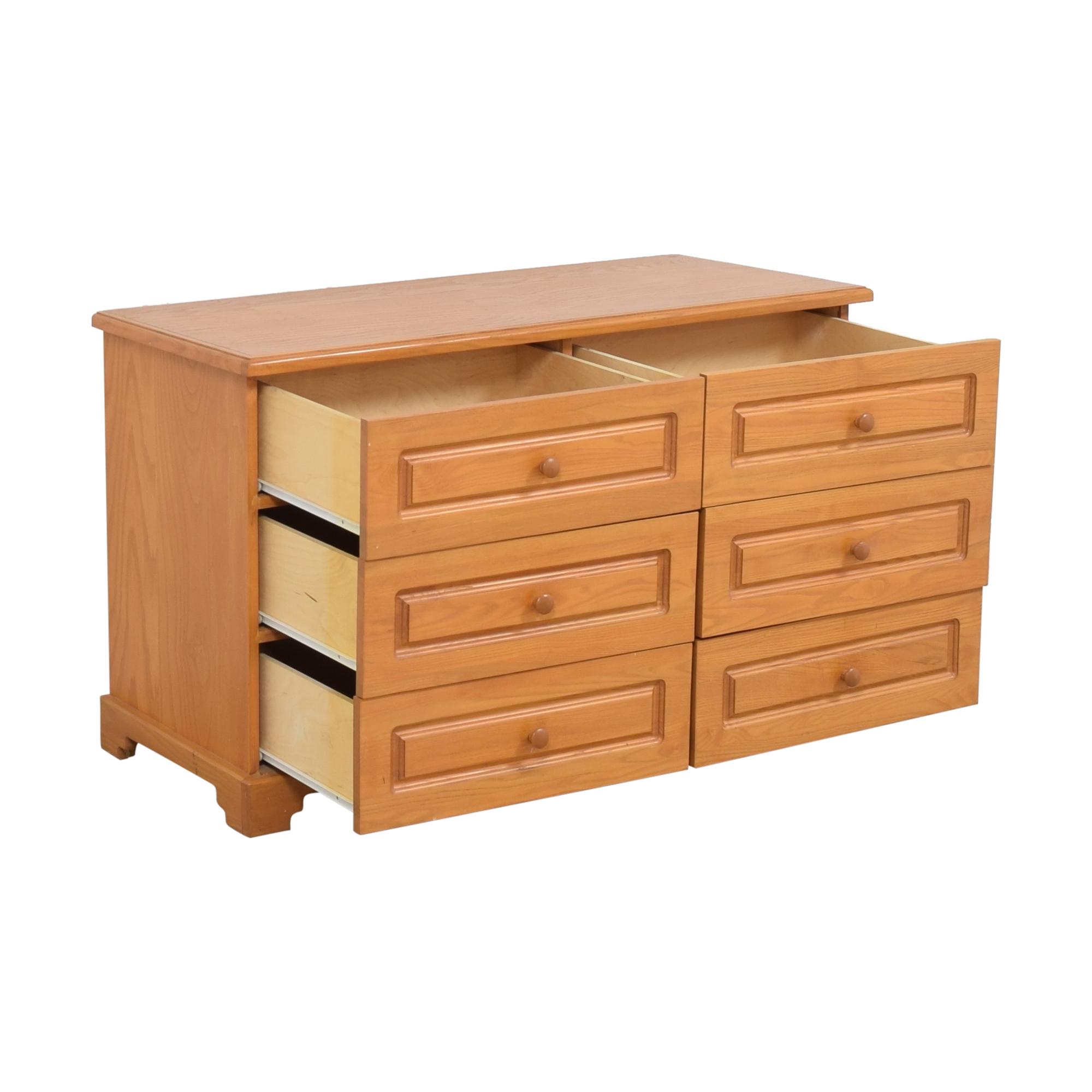 Gothic Cabinet Craft Gothic Cabinet Craft Double Dresser dimensions