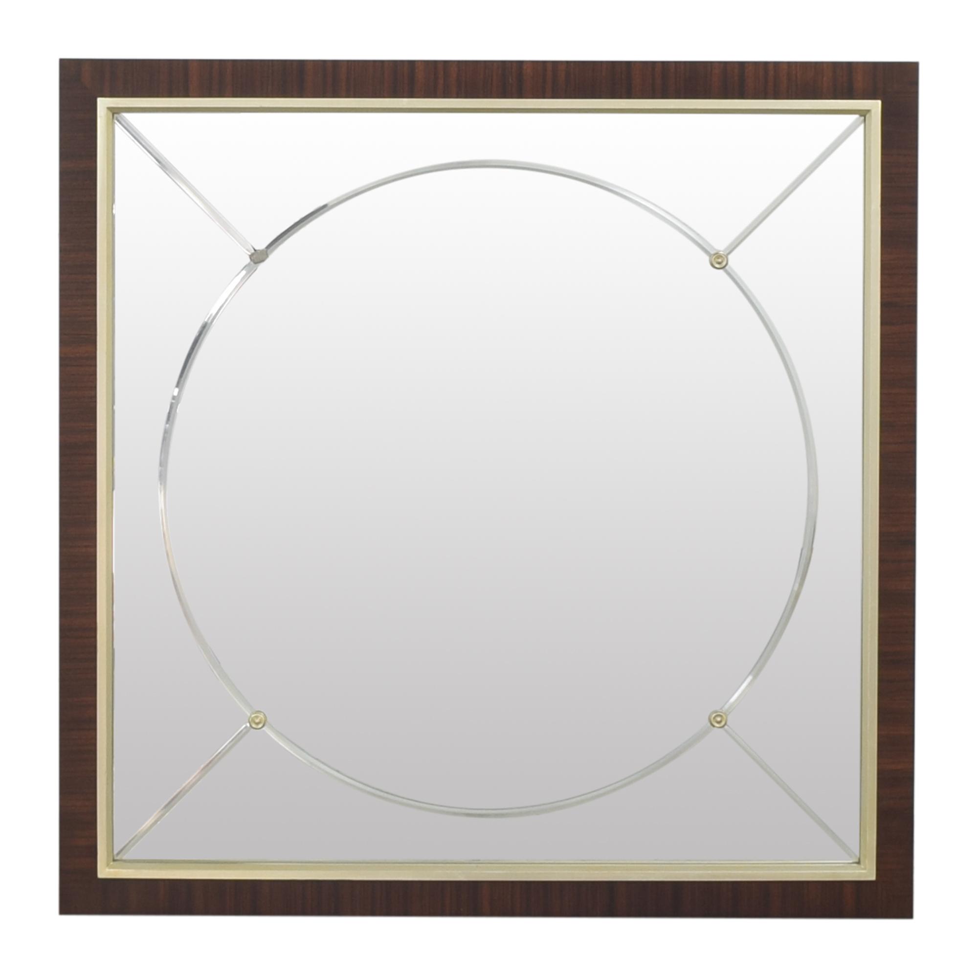 buy Ethan Allen Square Mirror Ethan Allen
