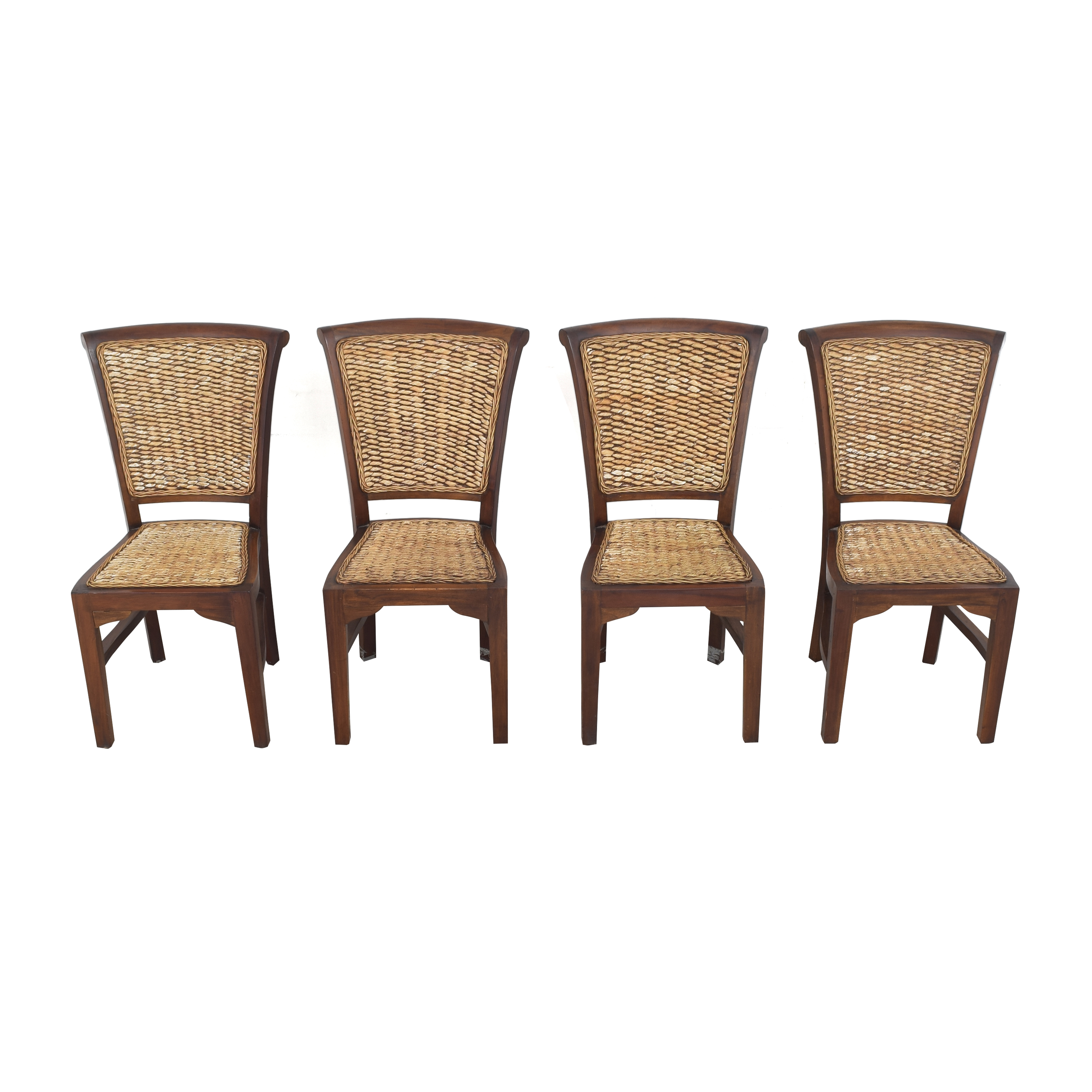 ABC Carpet & Home Woven Dining Chairs / Dining Chairs