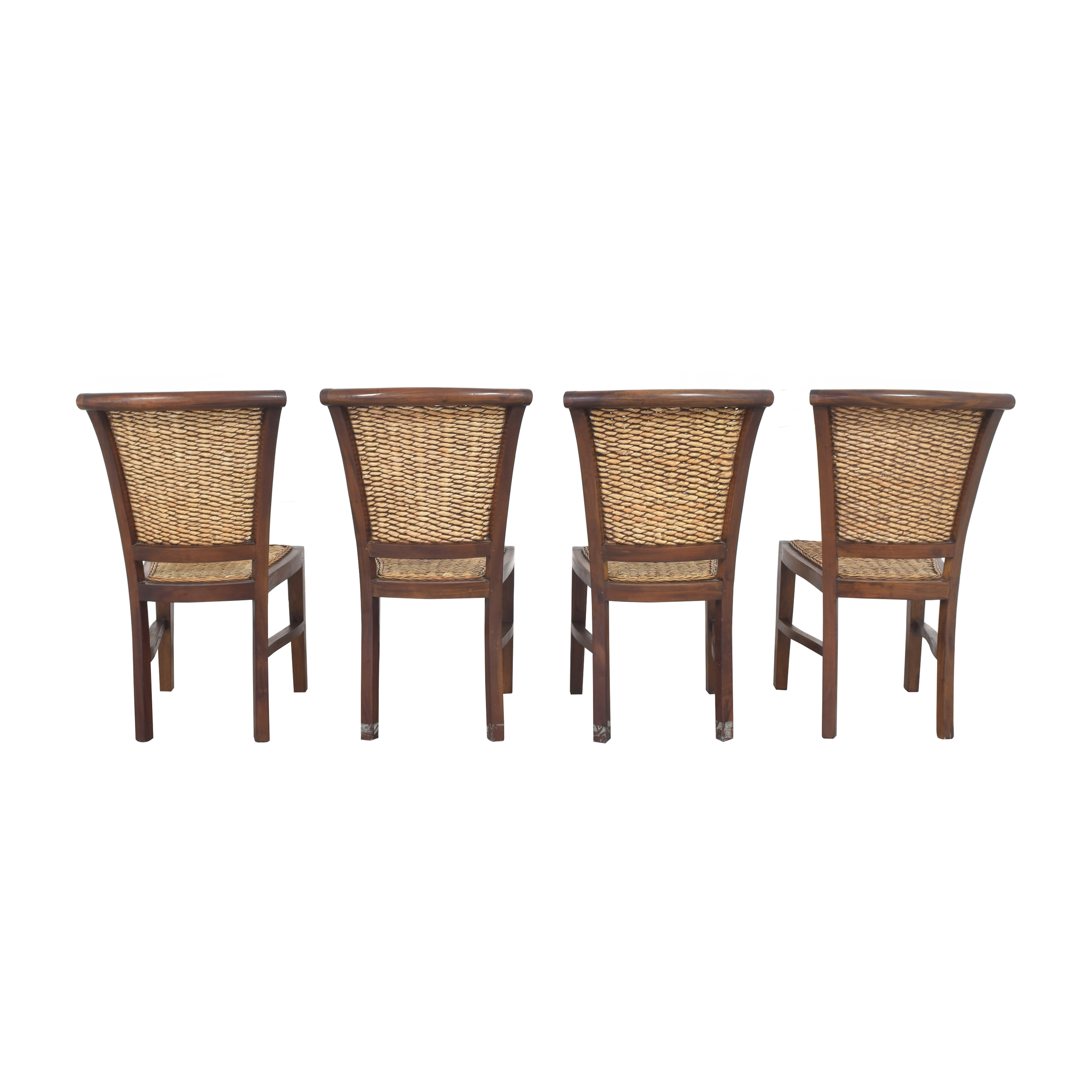 ABC Carpet & Home Woven Dining Chairs ABC Carpet & Home