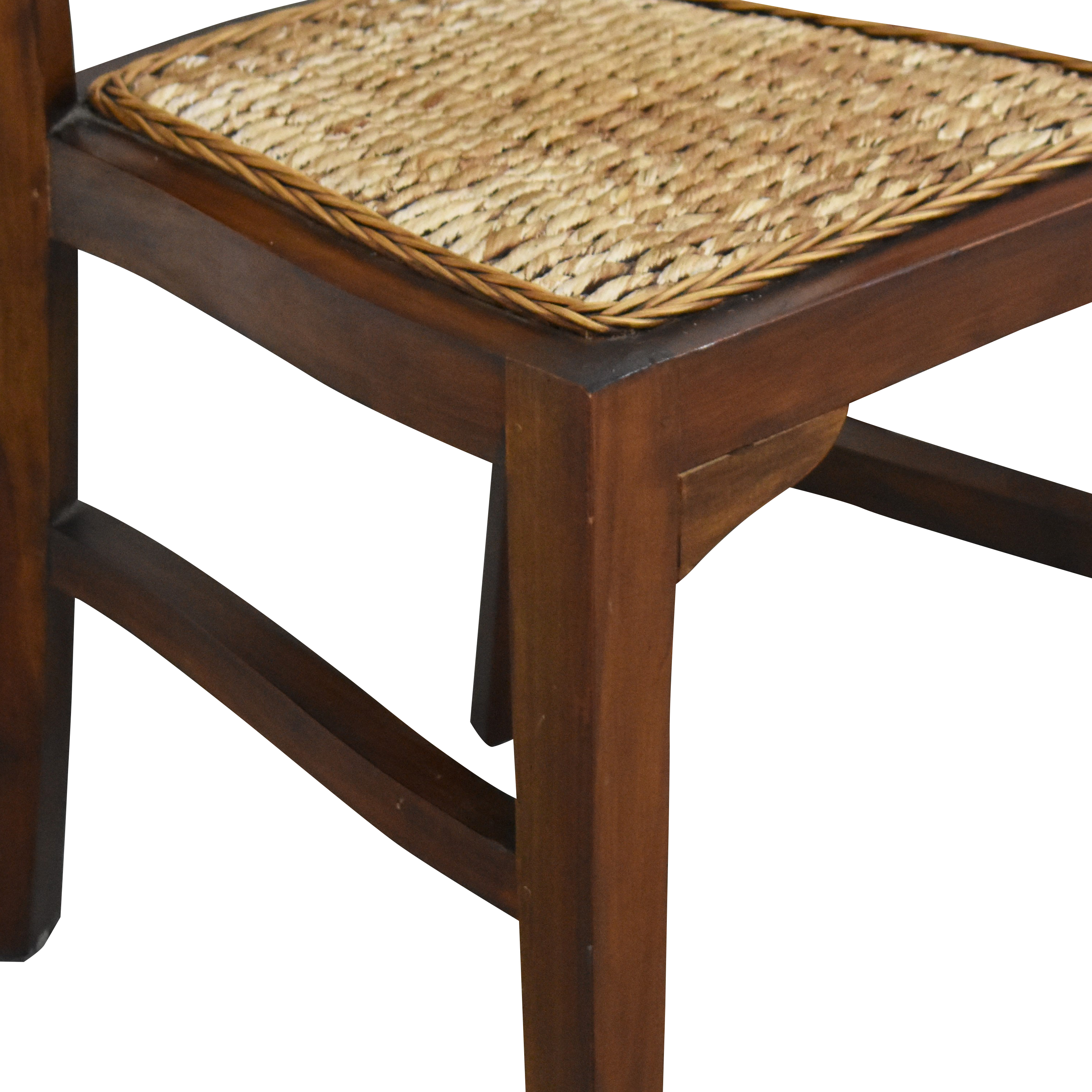 ABC Carpet & Home ABC Carpet & Home Woven Dining Chairs dimensions
