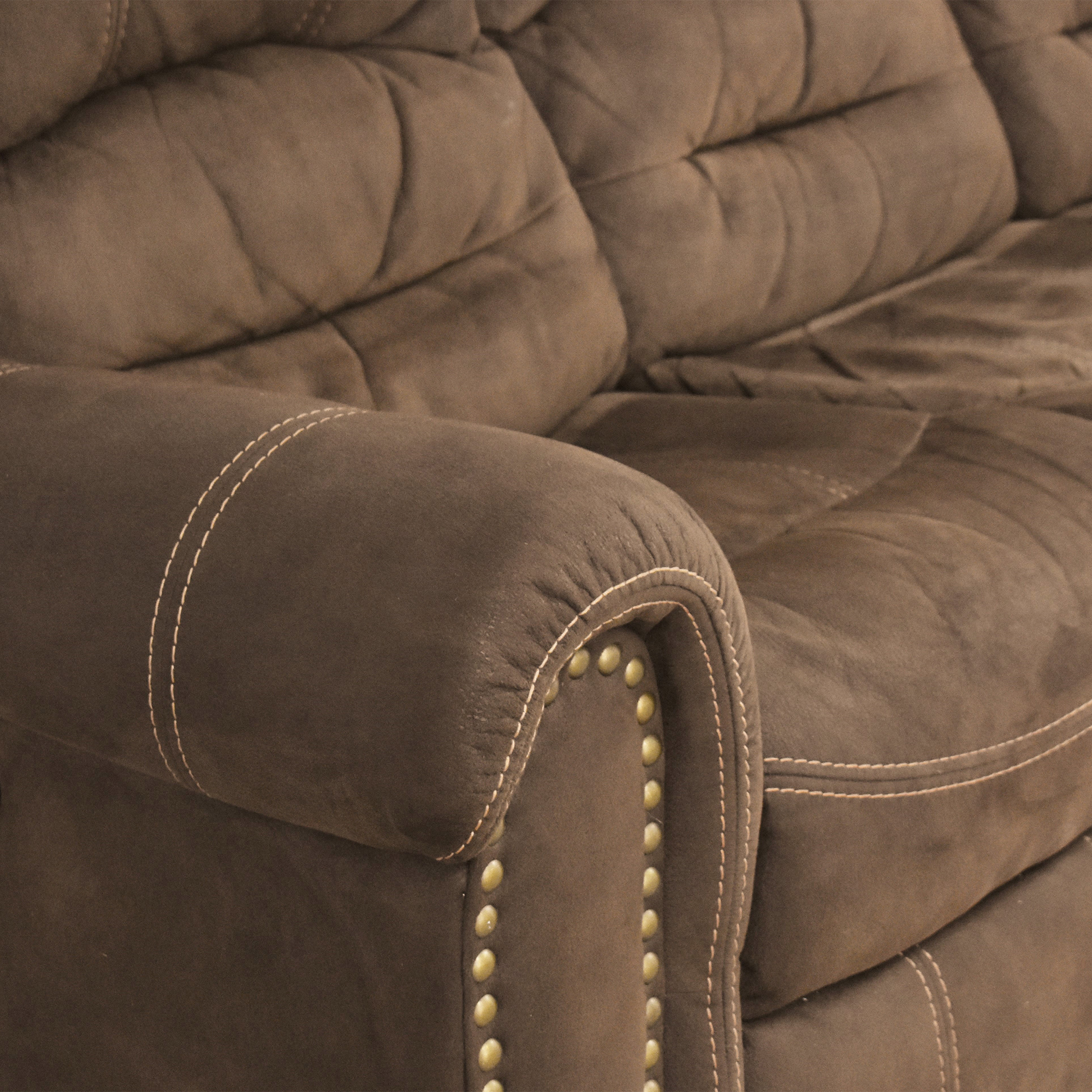 buy Flexsteel Flexsteel Town Nailhead Reclining Sofa online