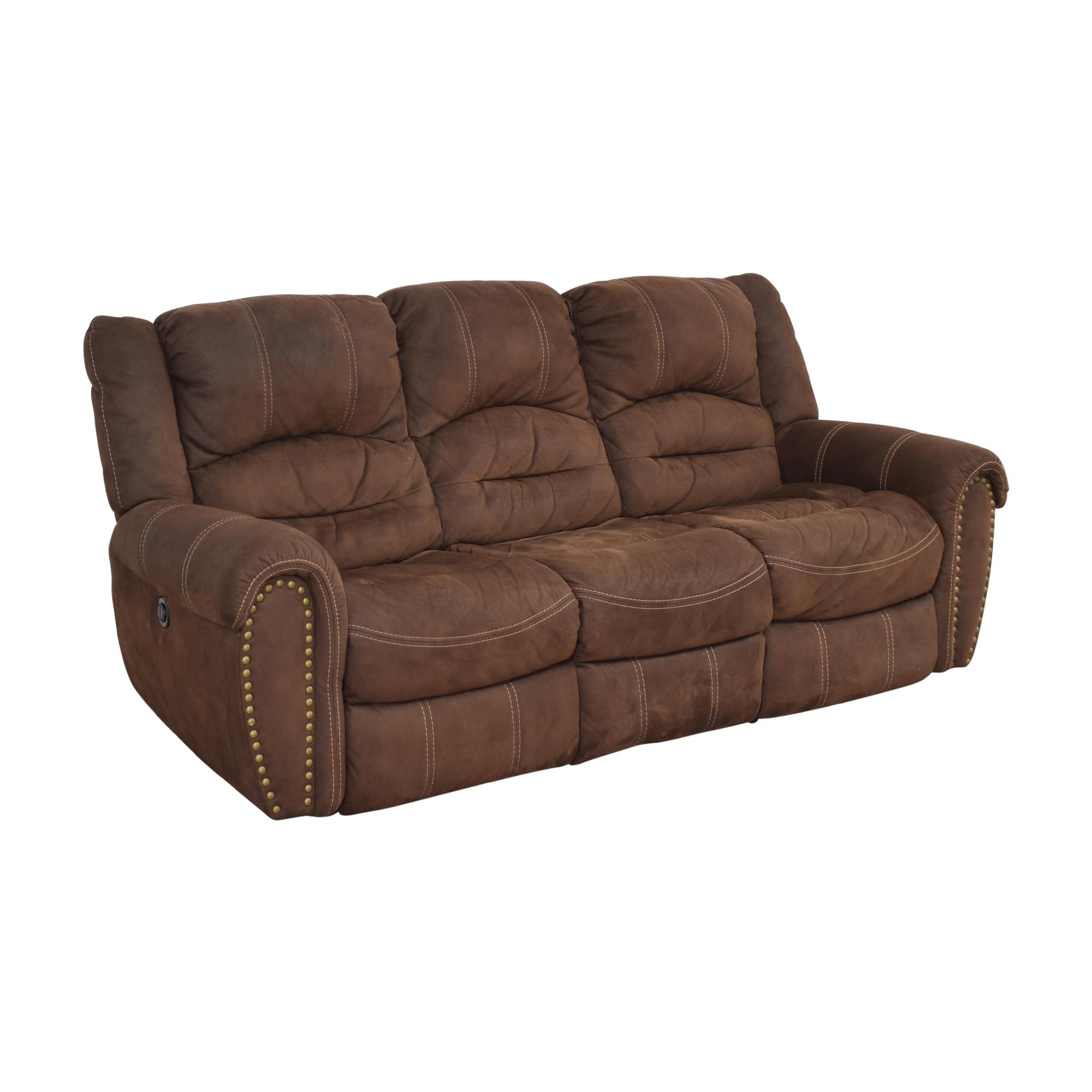 Flexsteel Flexsteel Town Nailhead Reclining Sofa on sale