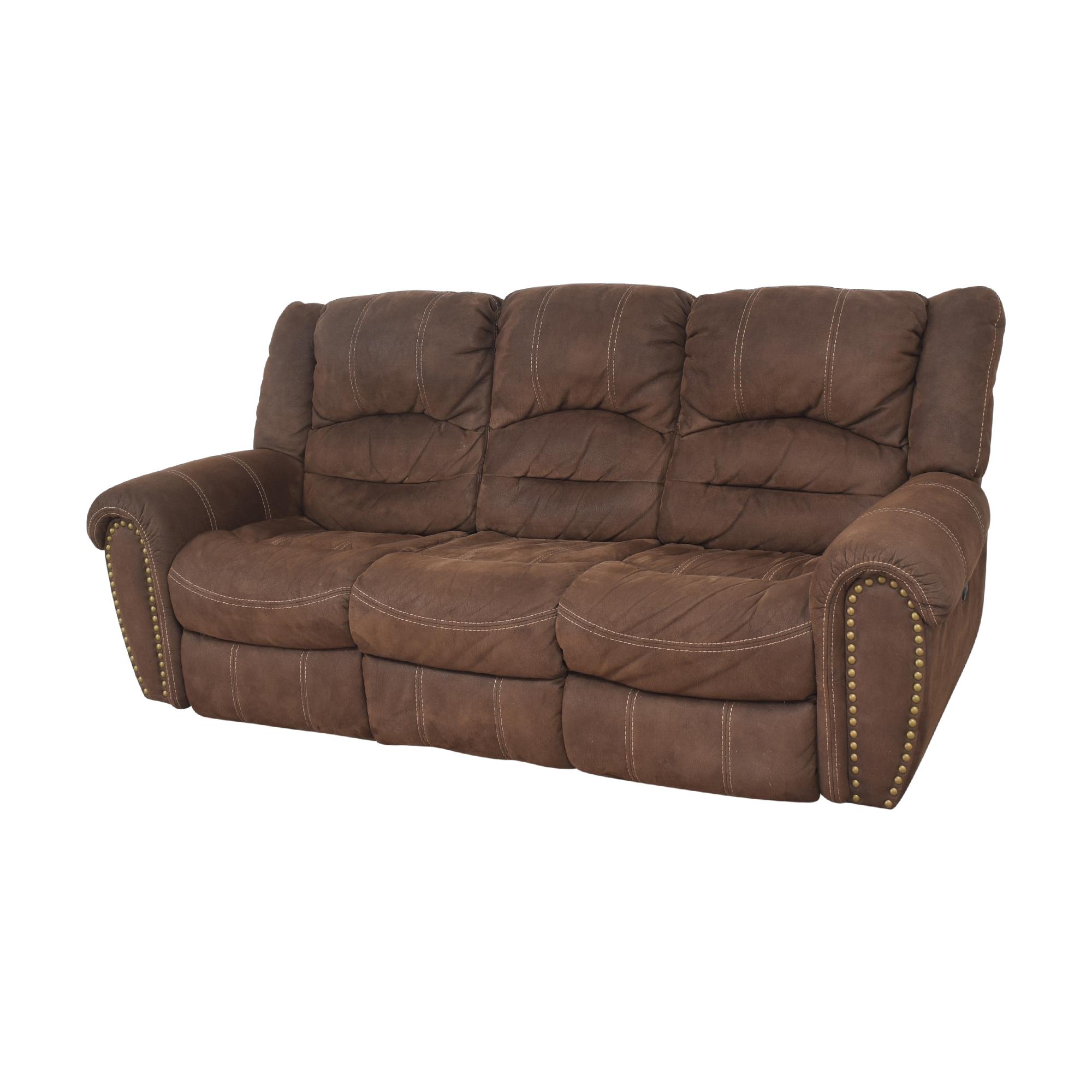 Flexsteel Flexsteel Town Nailhead Reclining Sofa discount