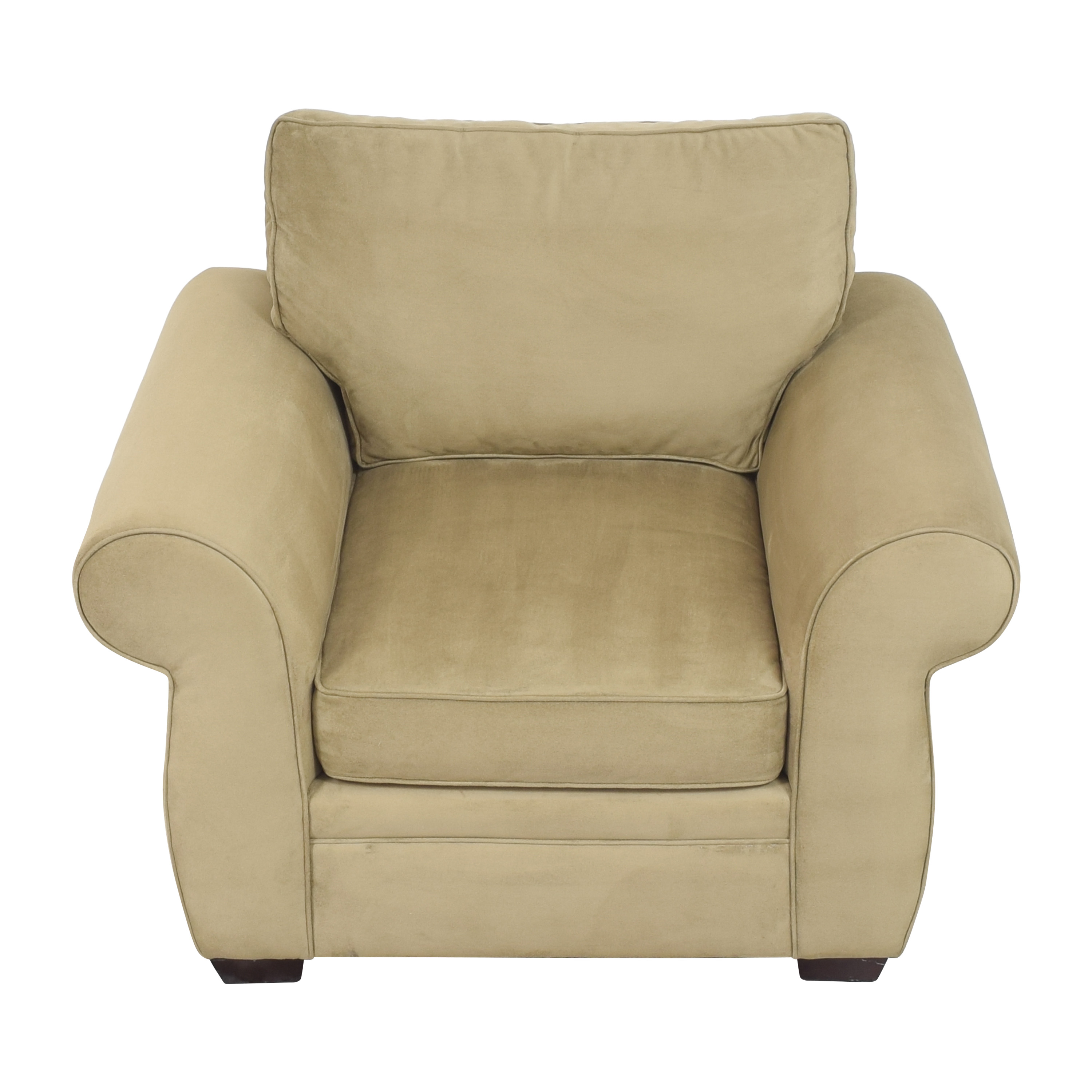 buy Pottery Barn Pearce Roll Arm Upholstered Armchair Pottery Barn Chairs