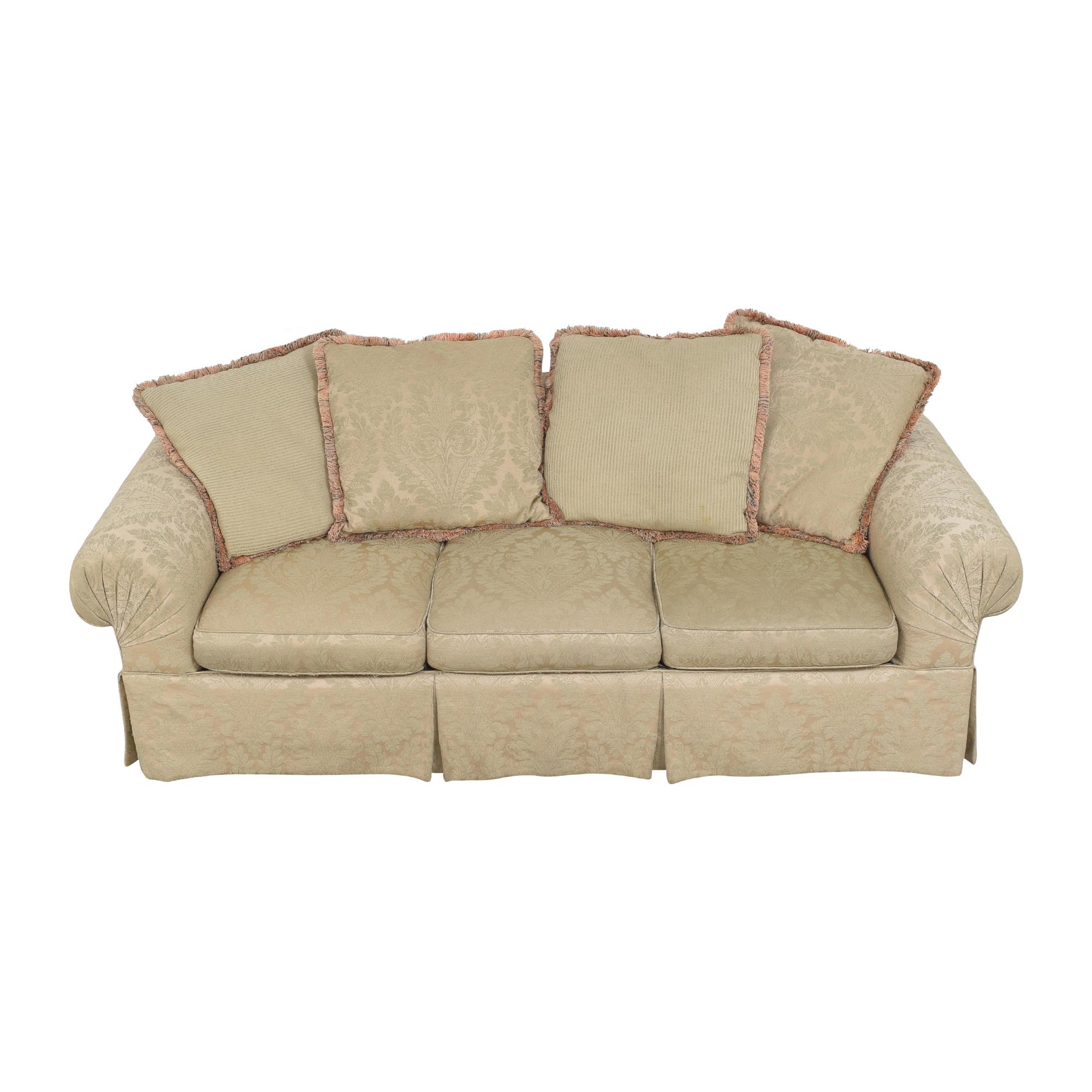 Lexington Furniture Lexington Furniture Skirted Roll Arm Sofa price