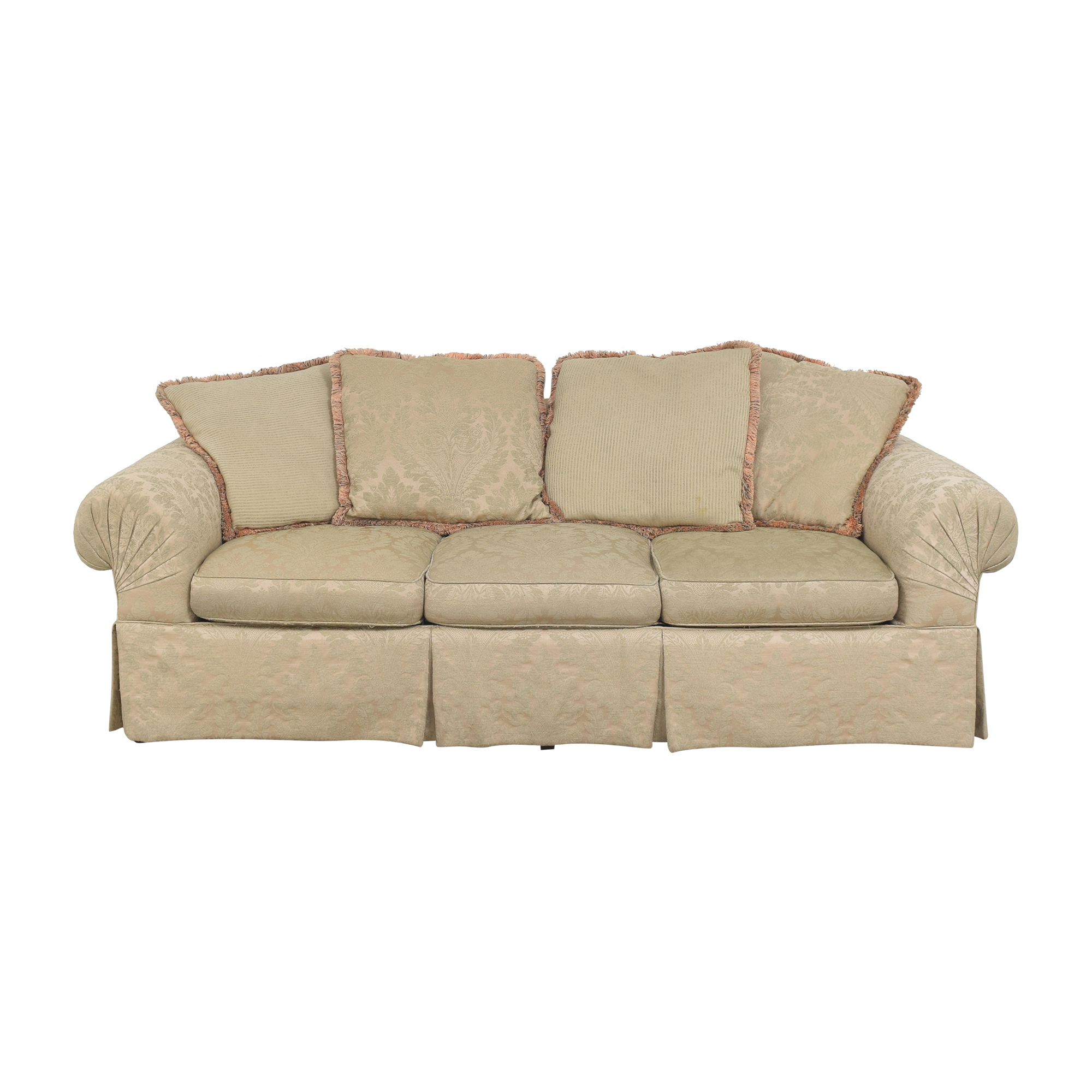 Lexington Furniture Lexington Furniture Skirted Roll Arm Sofa pa