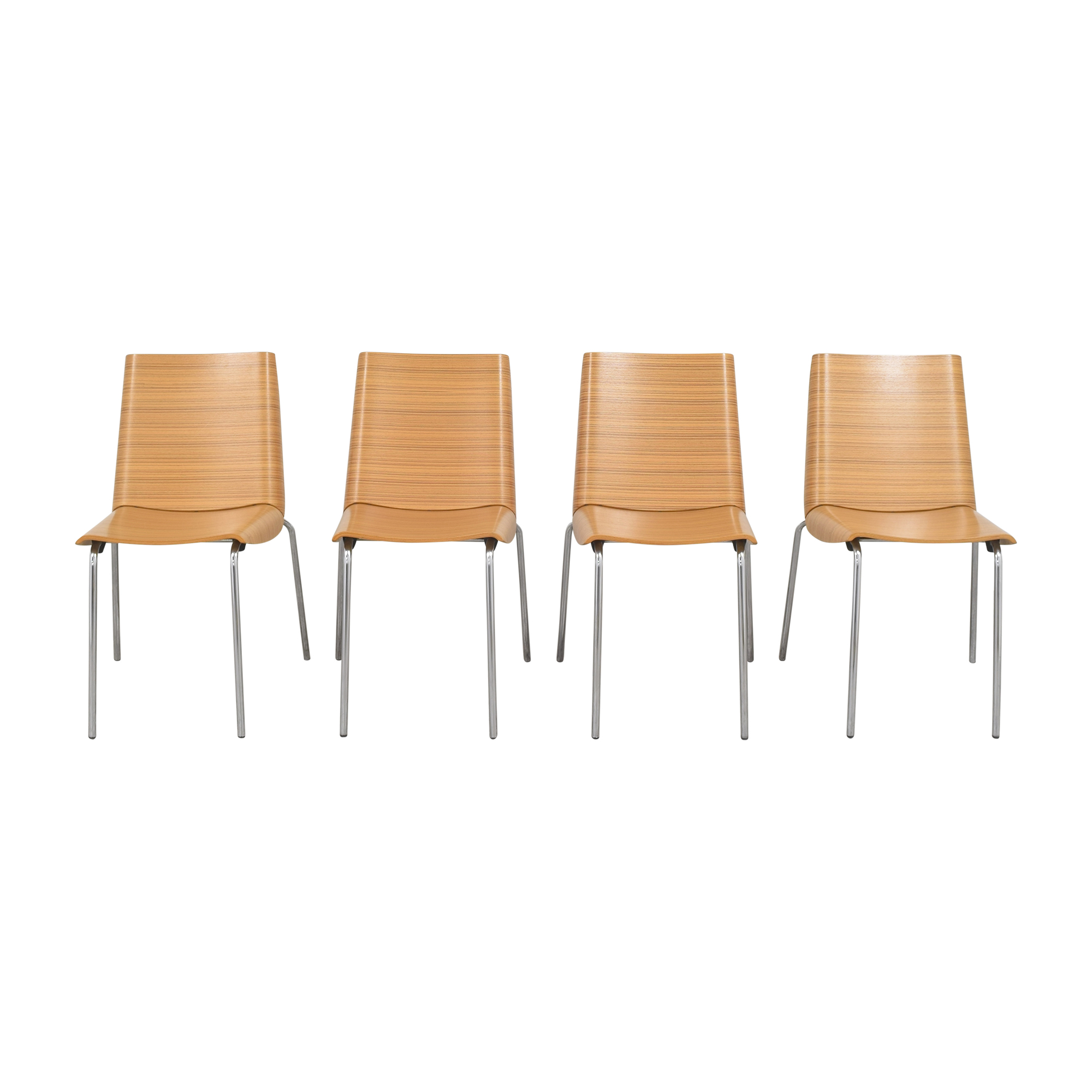 shop Plank Millefoglie Dining Side Chairs Plank