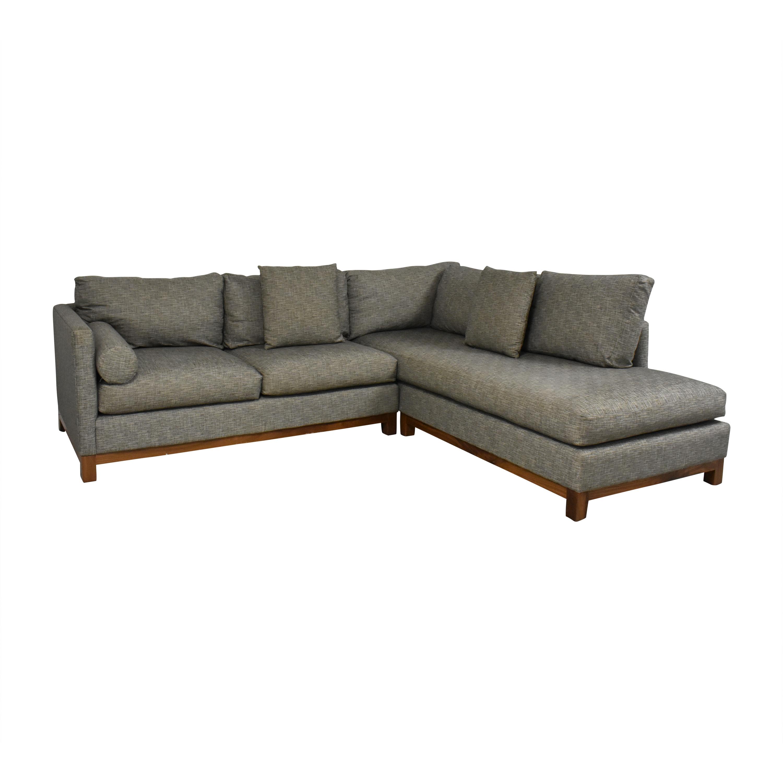 Burton James Burton James Custom Chaise Sectional Sofa