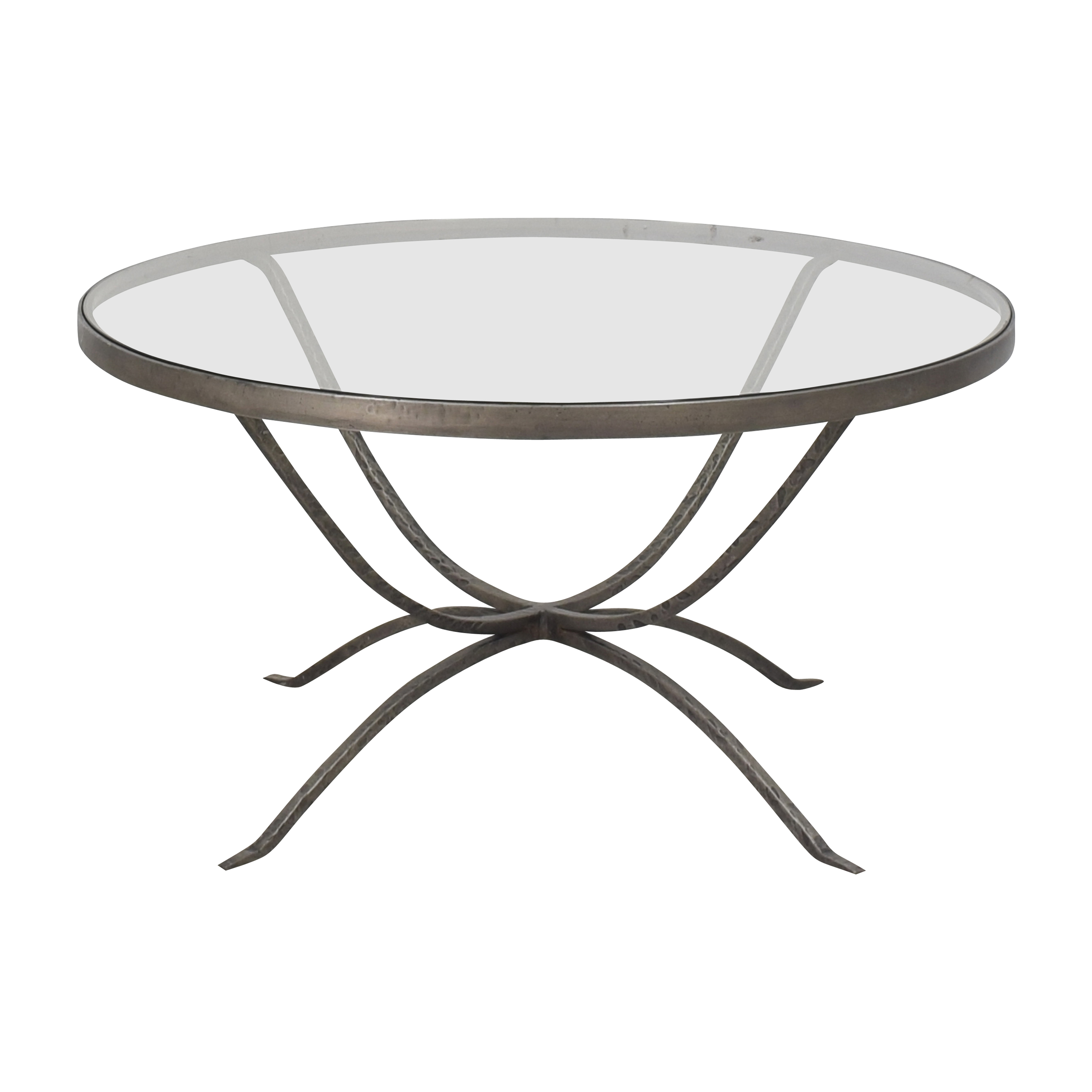 Arhaus Nova Transparent Coffee Table sale