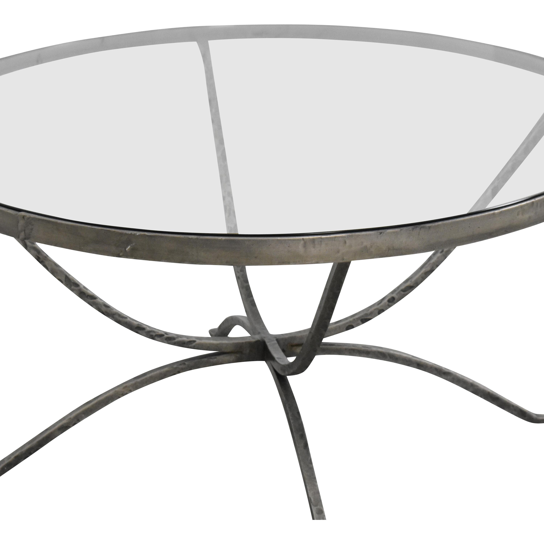shop Arhaus Nova Transparent Coffee Table Arhaus Tables