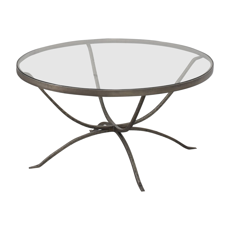 shop Arhaus Nova Transparent Coffee Table Arhaus Coffee Tables
