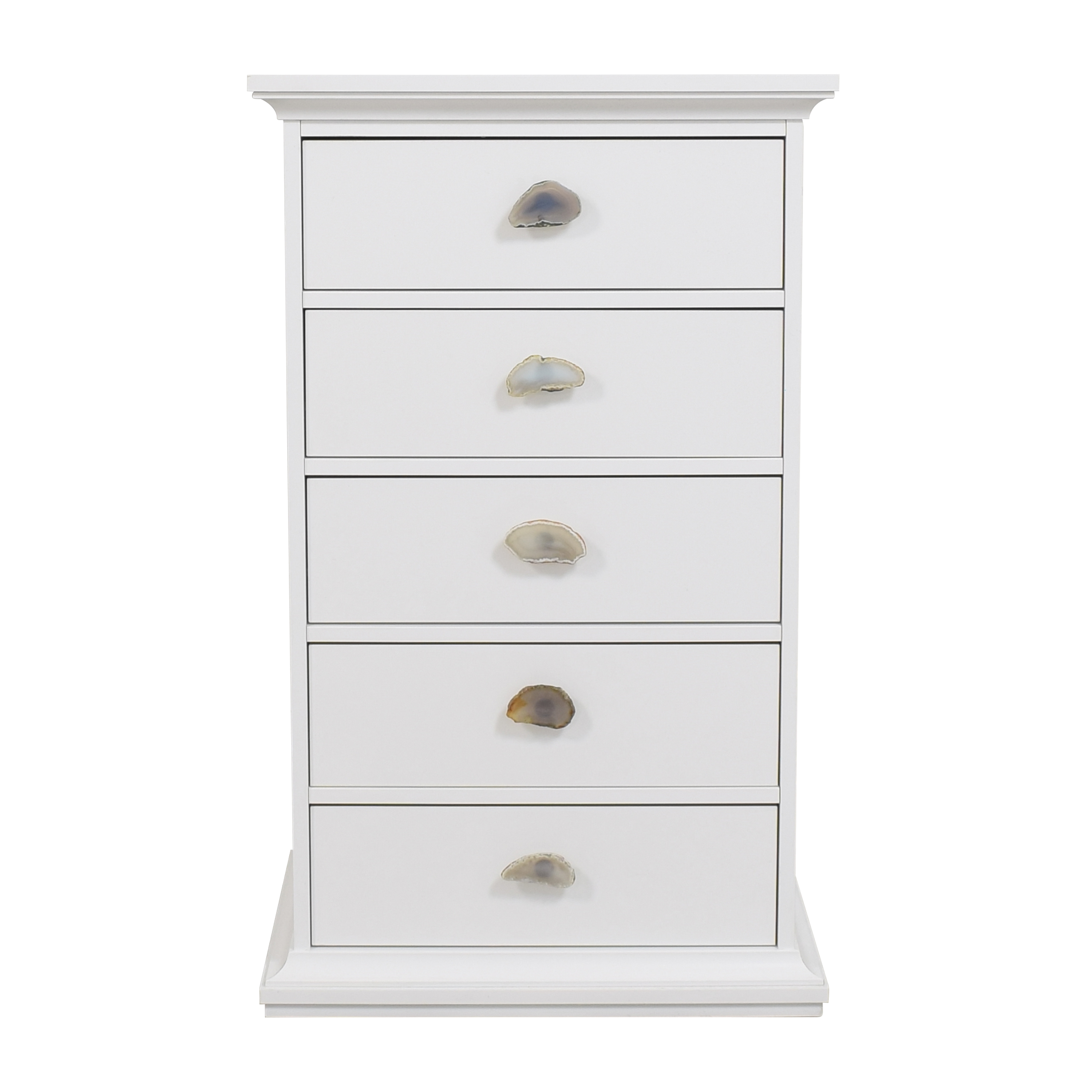 Wayfair Five Drawer Chest with Decorative Knobs / Dressers