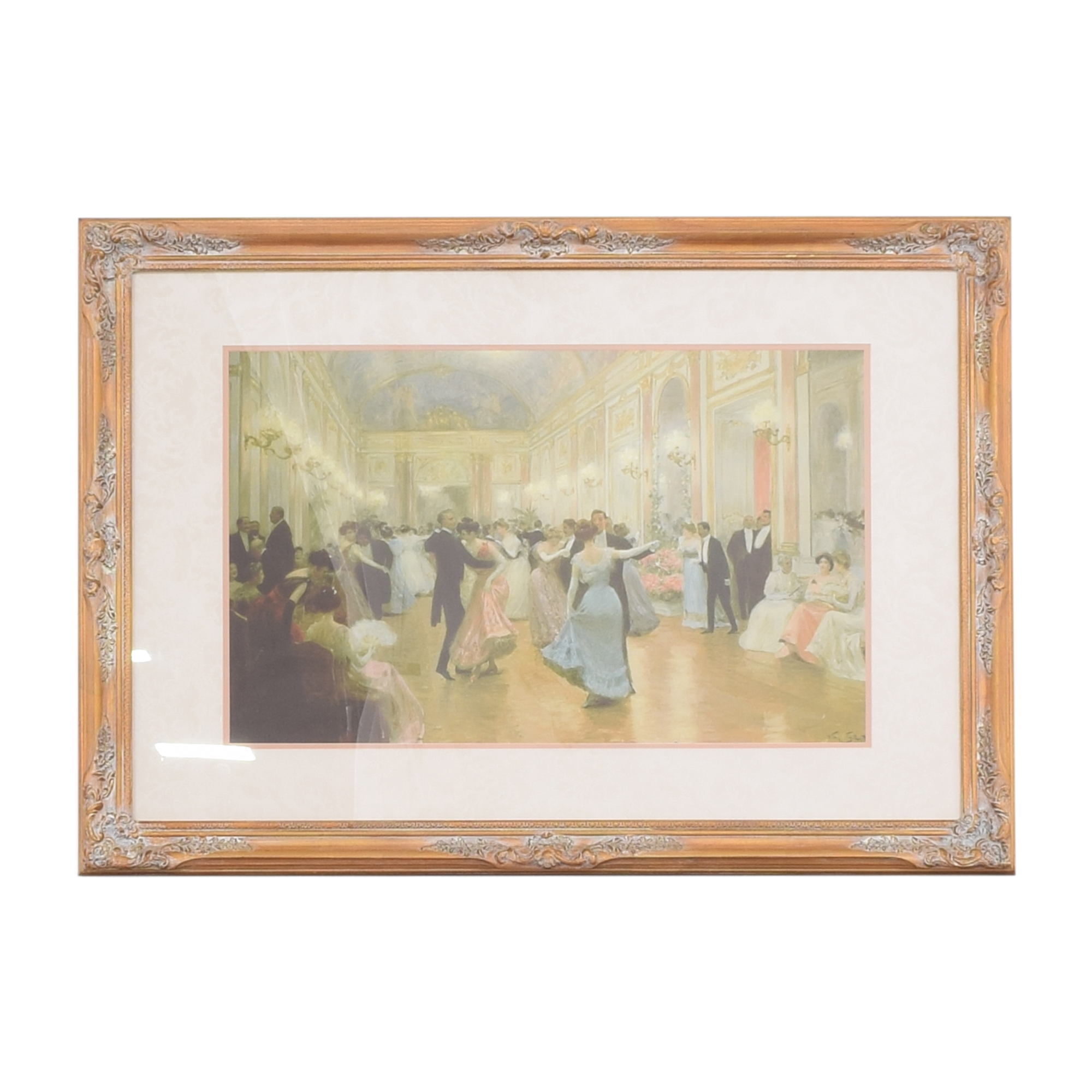 Victor Gilbert The Ball Framed Wall Art  nj