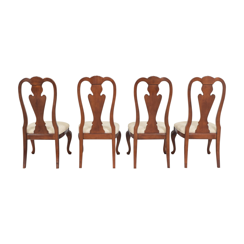 Hyundai Furniture Hyundai Furniture Queen Anne Dining Chairs nj
