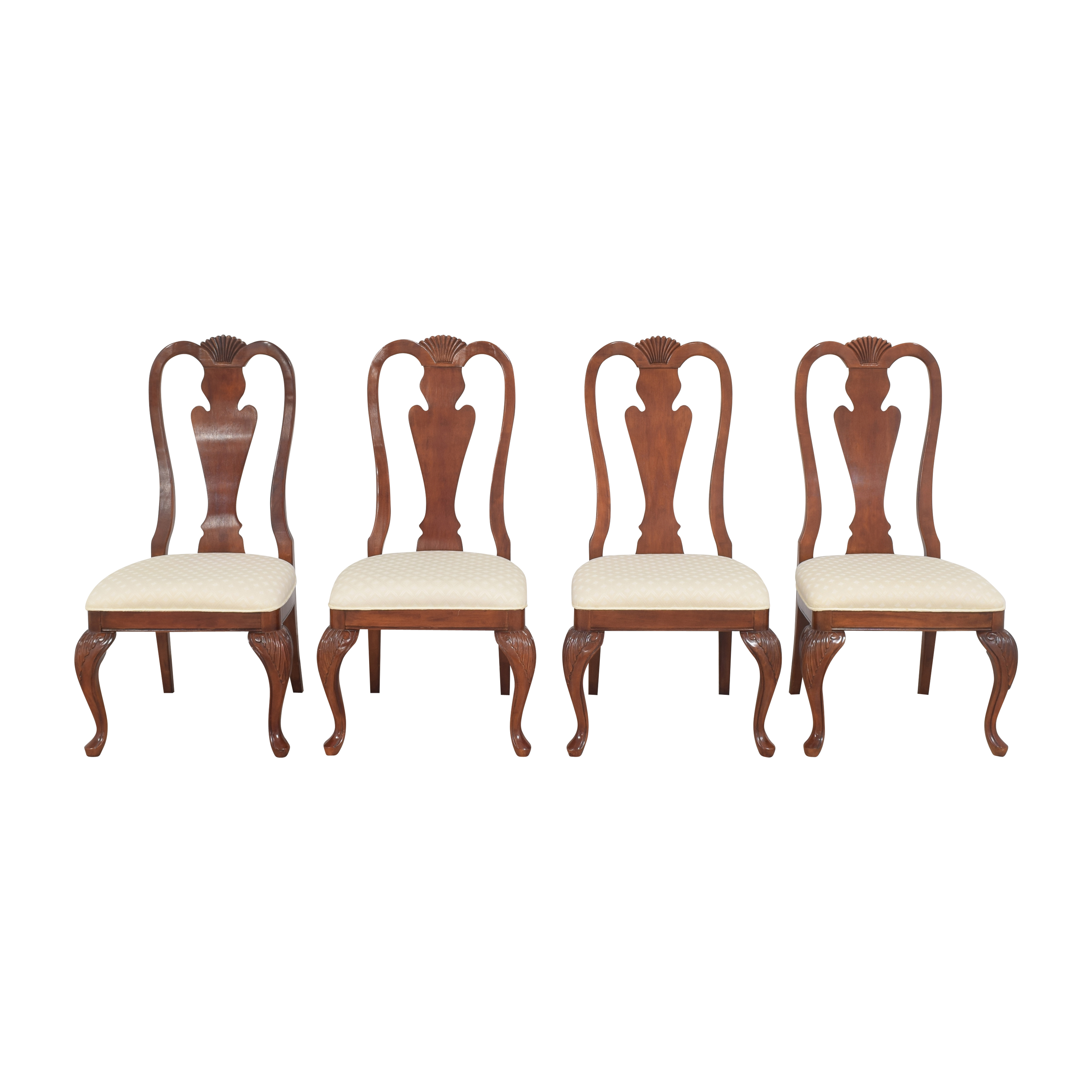 Hyundai Furniture Hyundai Furniture Queen Anne Dining Chairs ma