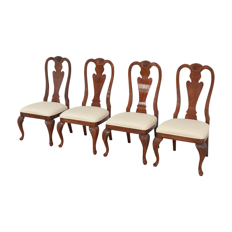 Hyundai Furniture Hyundai Furniture Queen Anne Dining Chairs Dining Chairs