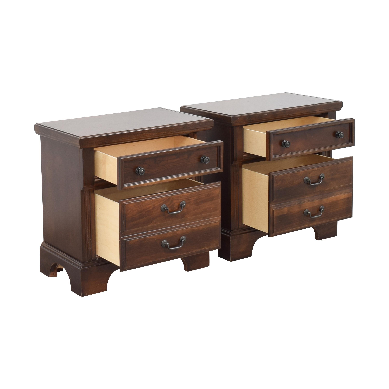 buy Vaughan-Bassett Two Drawer  Nightstands Vaughan-Bassett