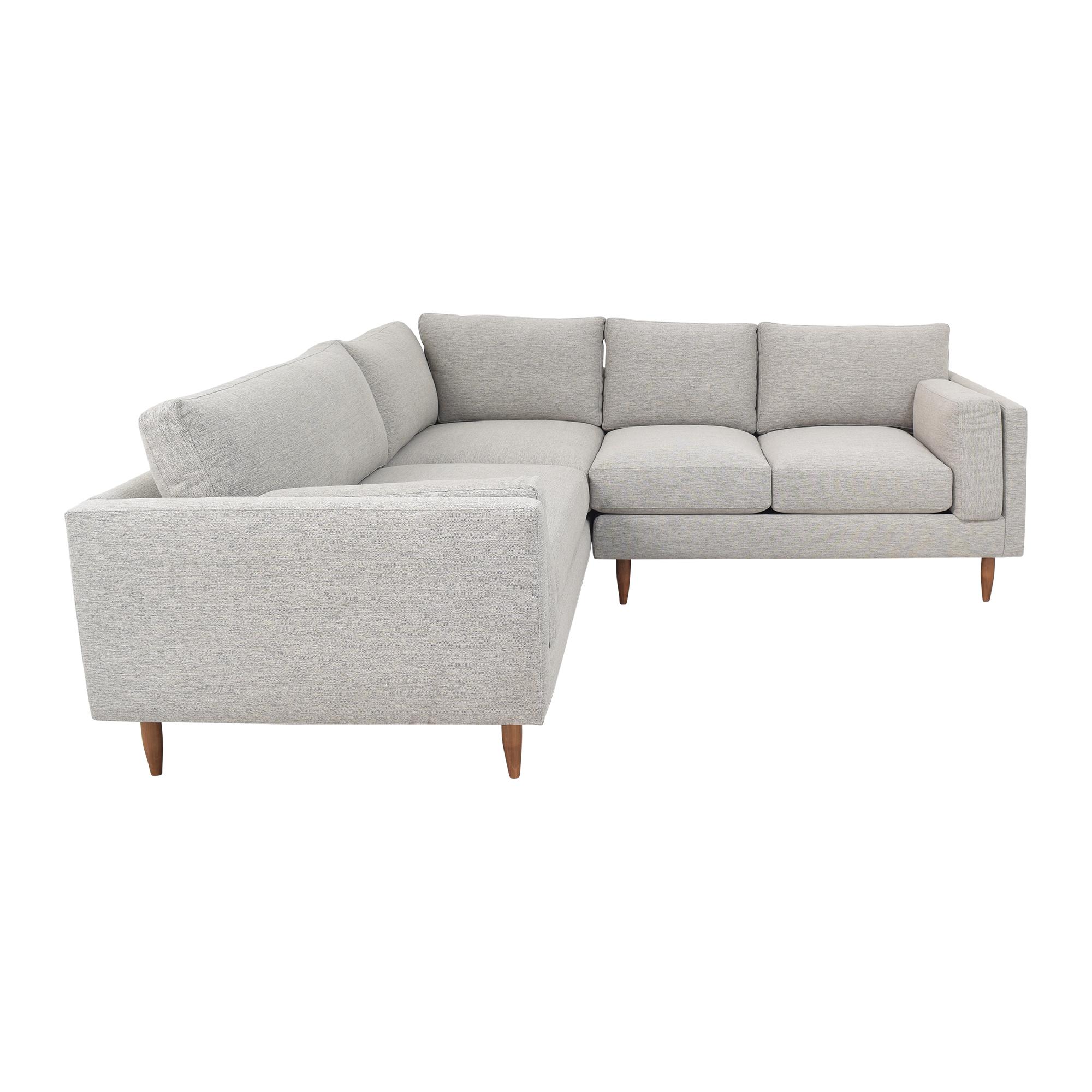 BenchMade Modern BenchMade Modern Skinny Fat Sectional Sofa ct